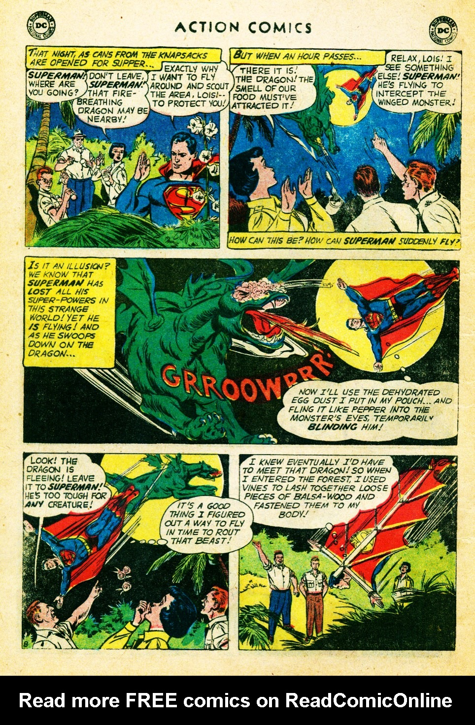Read online Action Comics (1938) comic -  Issue #262 - 10