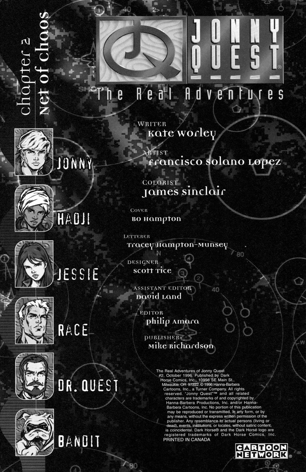 Read online The Real Adventures of Jonny Quest comic -  Issue #2 - 2