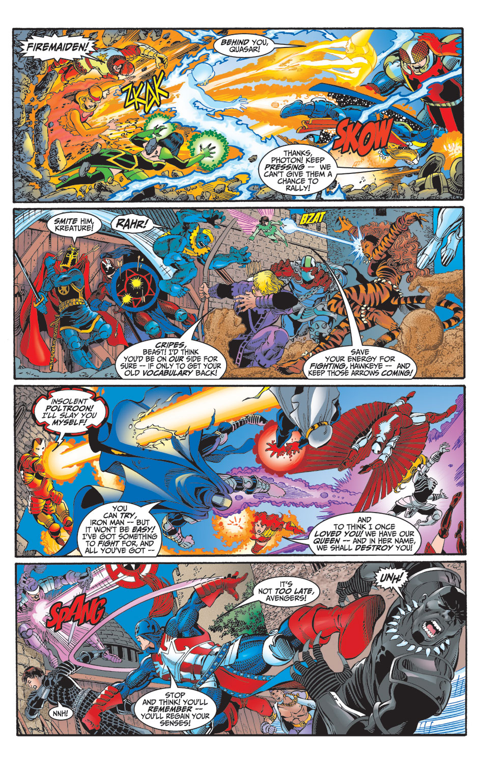 Read online Avengers (1998) comic -  Issue #2 - 18