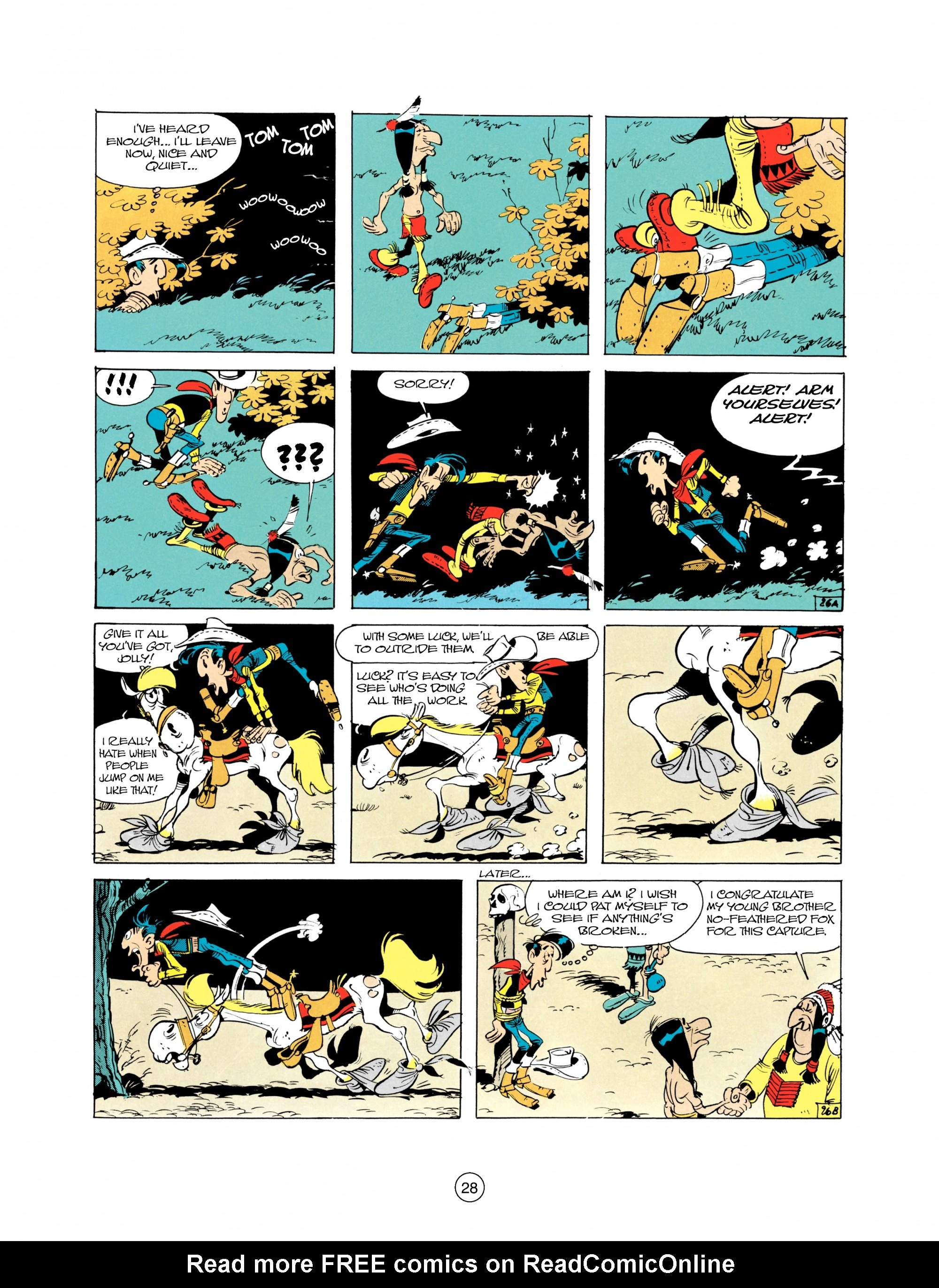 Read online A Lucky Luke Adventure comic -  Issue #21 - 28