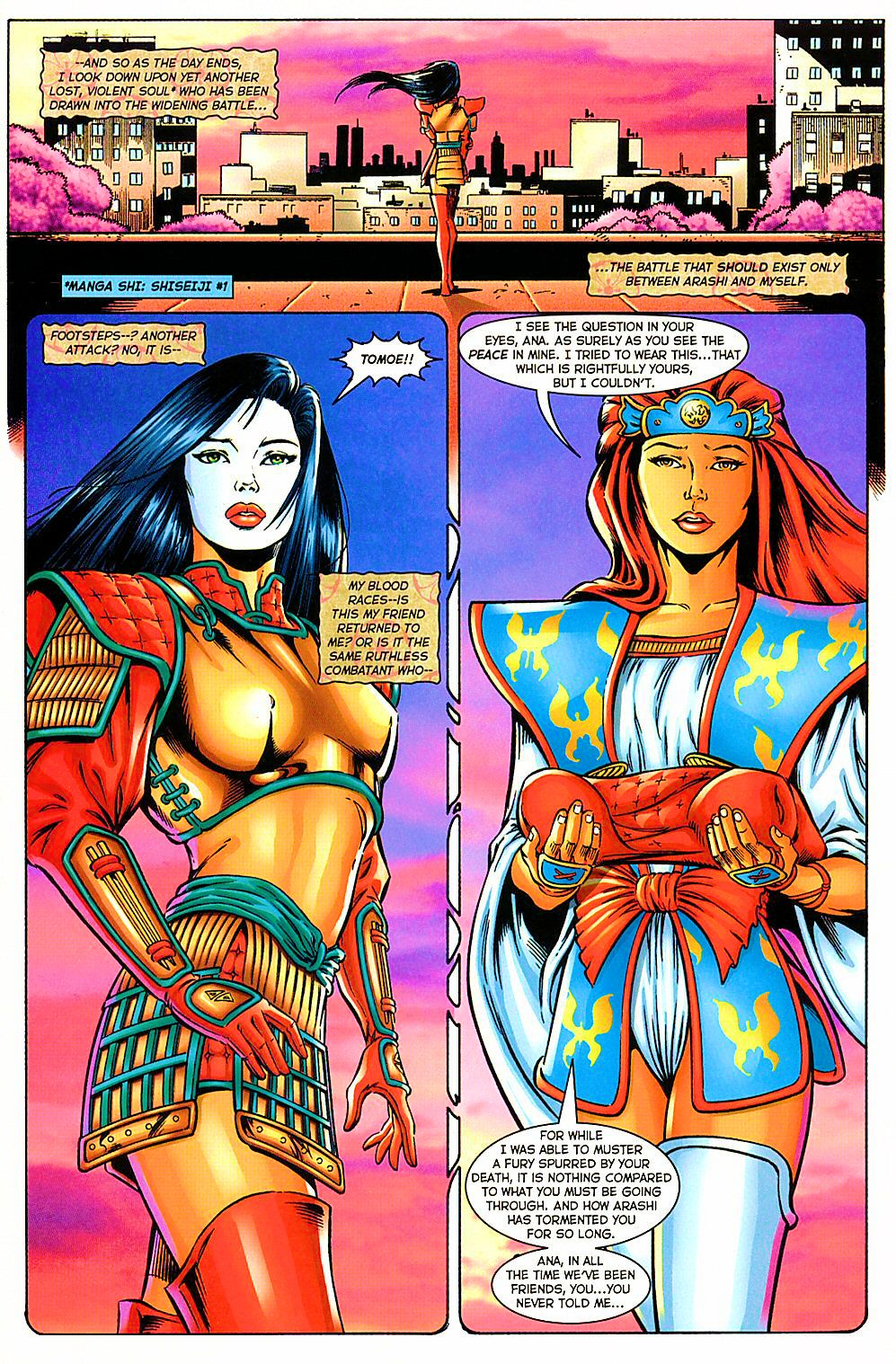 Read online Shi: The Way of the Warrior comic -  Issue #10 - 19