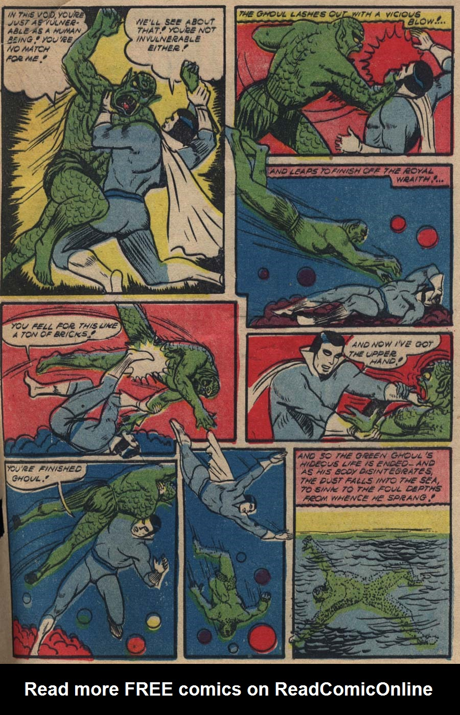Blue Ribbon Comics (1939) issue 18 - Page 64
