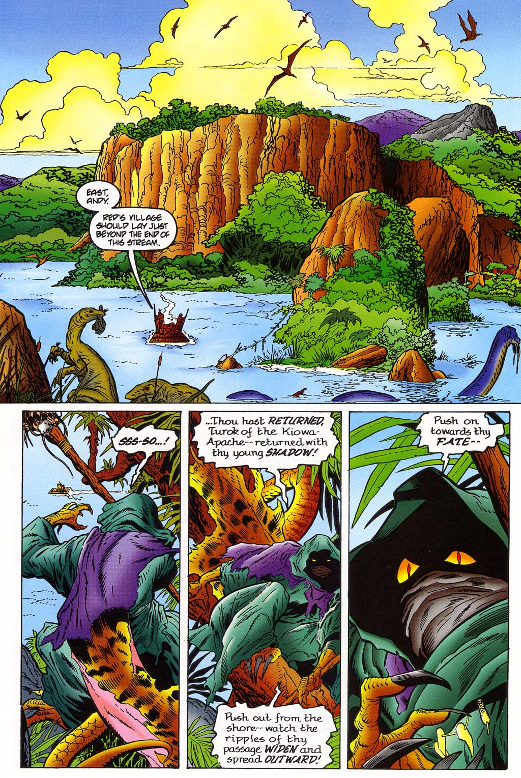 Read online Turok, Dinosaur Hunter (1993) comic -  Issue #45 - 7