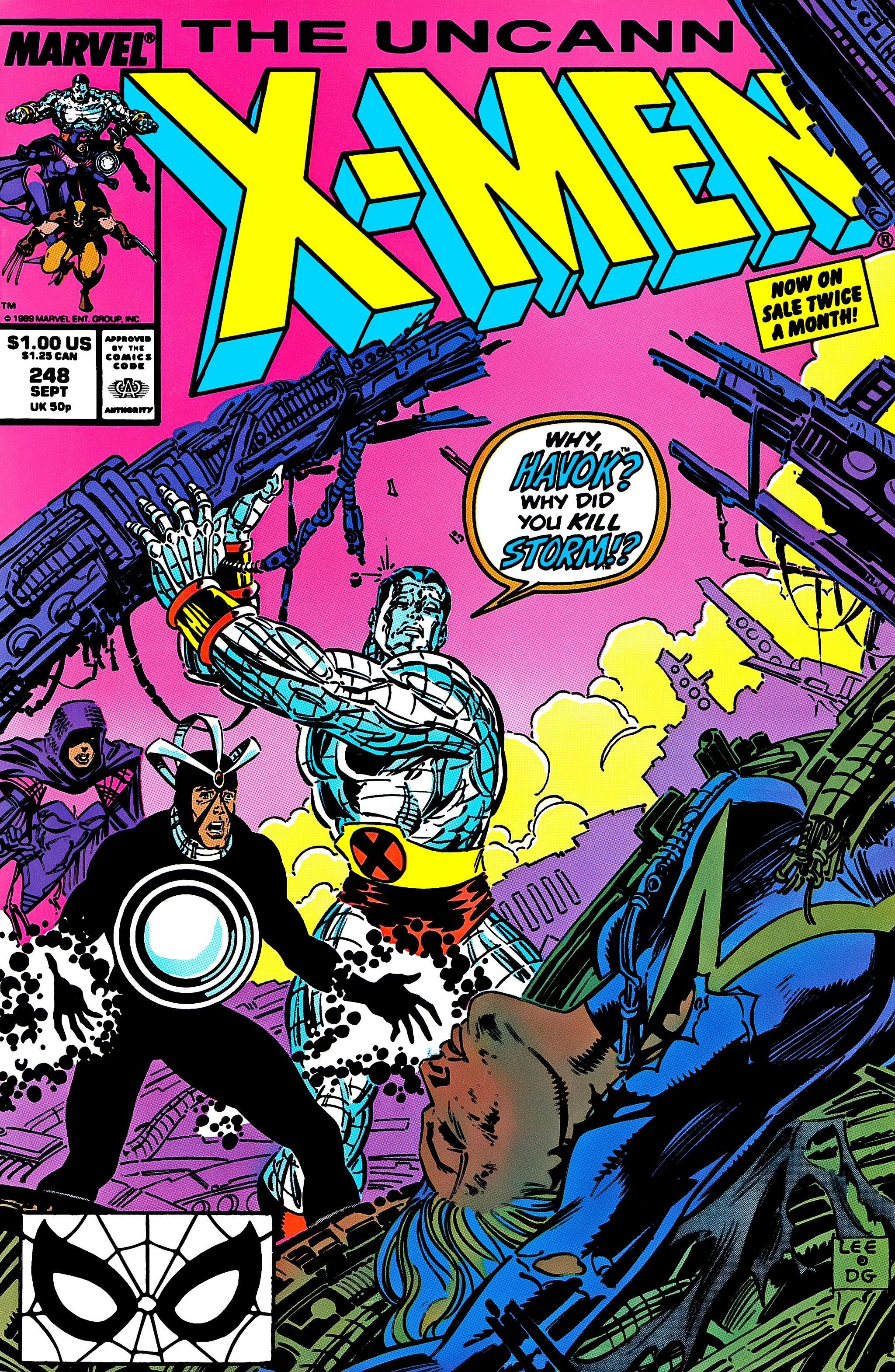 Read online Uncanny X-Men (1963) comic -  Issue #248 - 1