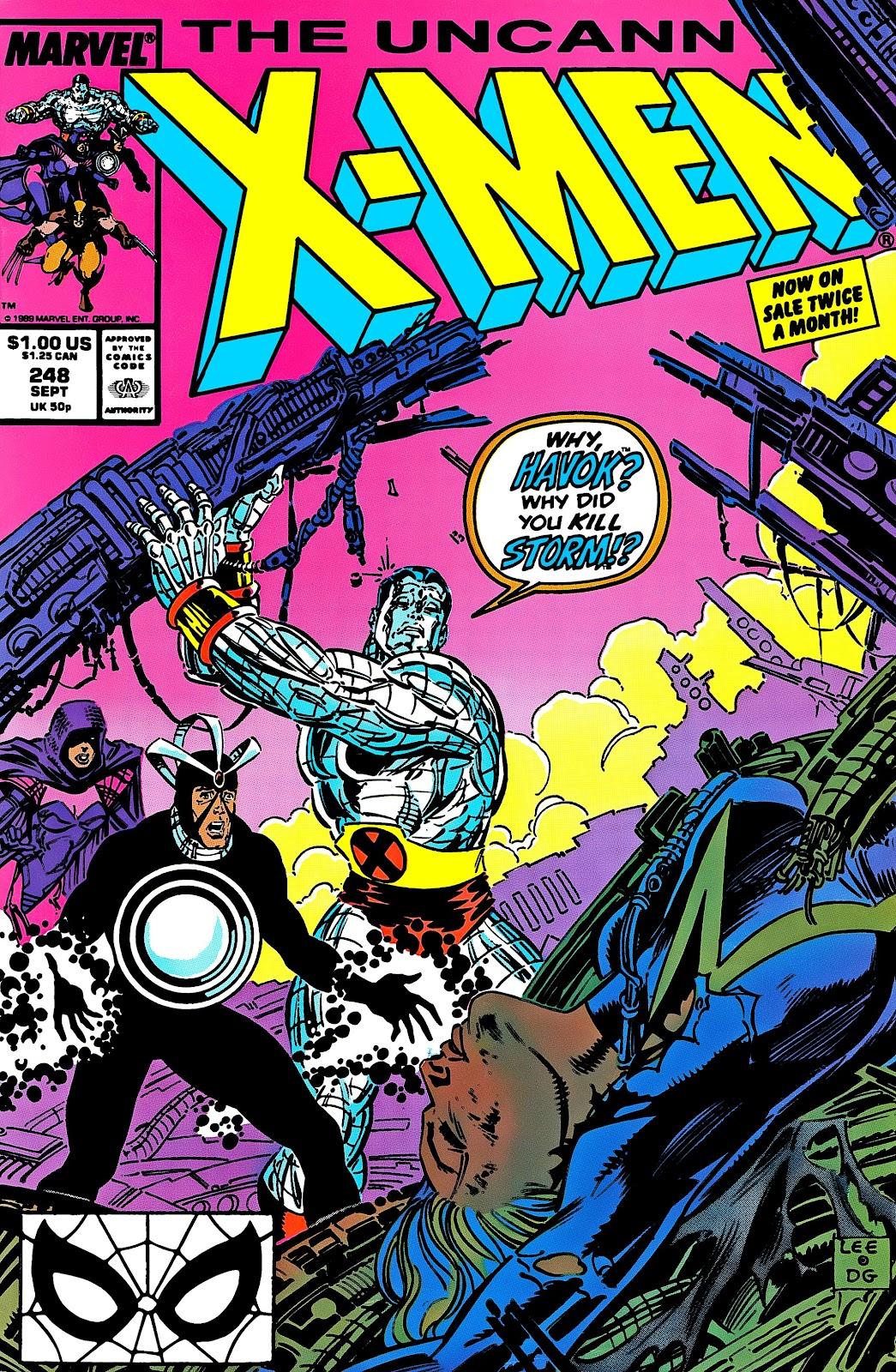 Uncanny X-Men (1963) issue 248 - Page 1