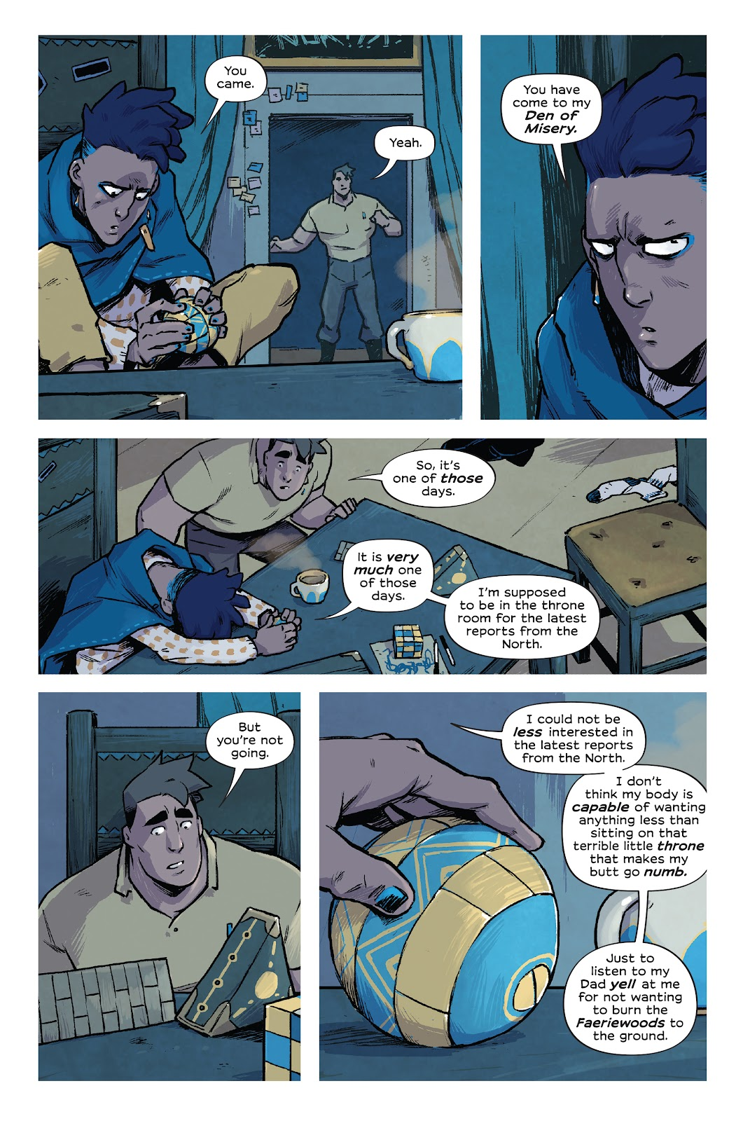Read online Wynd comic -  Issue #1 - 40