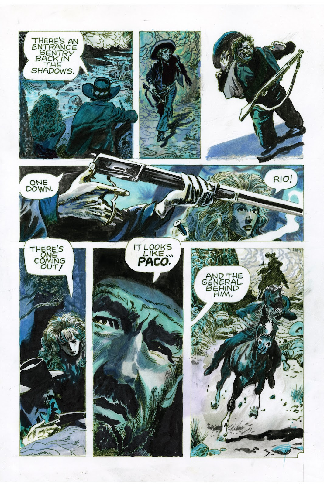 Read online Doug Wildey's Rio: The Complete Saga comic -  Issue # TPB (Part 3) - 68