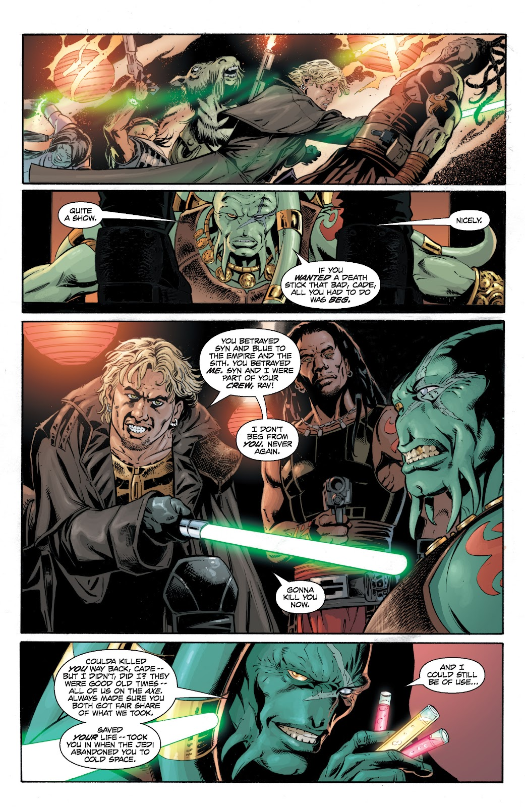 Read online Star Wars Legends: Legacy - Epic Collection comic -  Issue # TPB 2 (Part 2) - 7