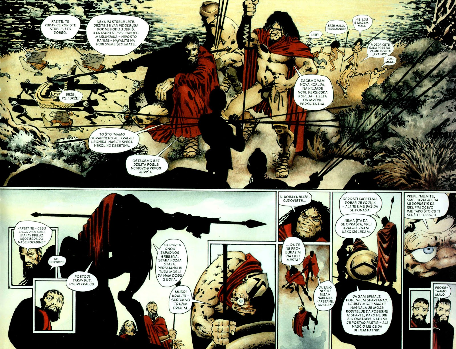 Read online 300 (2007) comic -  Issue # TPB - 42