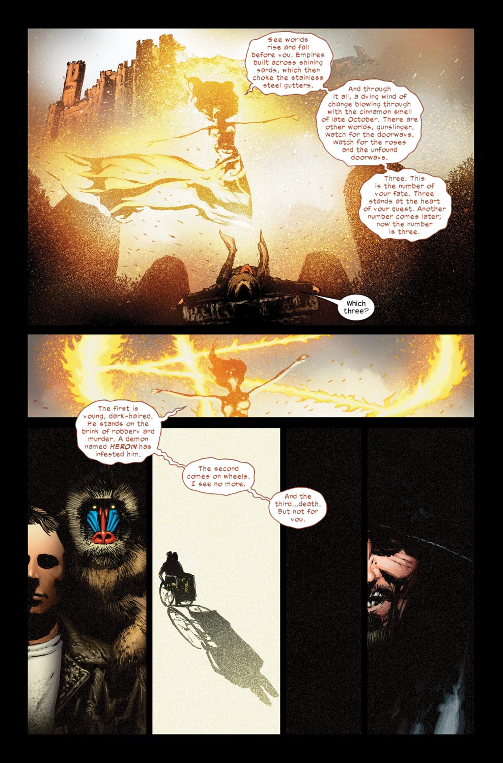 Read online Dark Tower: The Gunslinger - The Way Station comic -  Issue #5 - 14