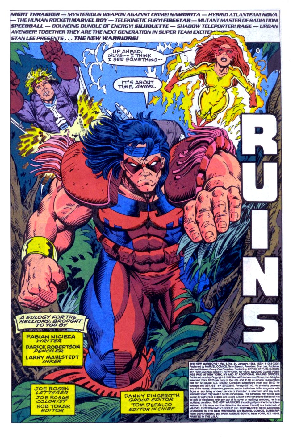 The New Warriors Issue #31 #35 - English 2