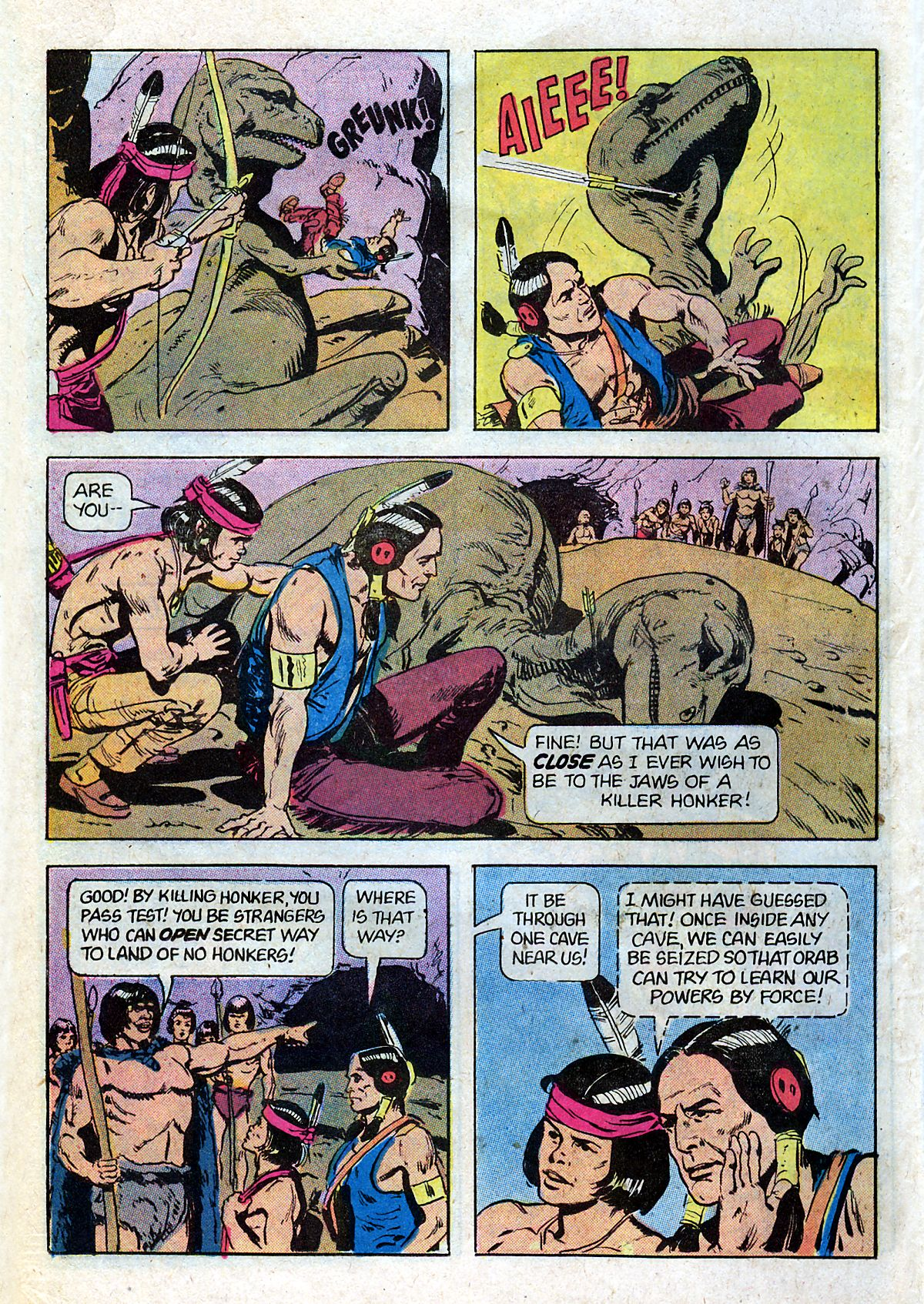 Read online Turok, Son of Stone comic -  Issue #124 - 26