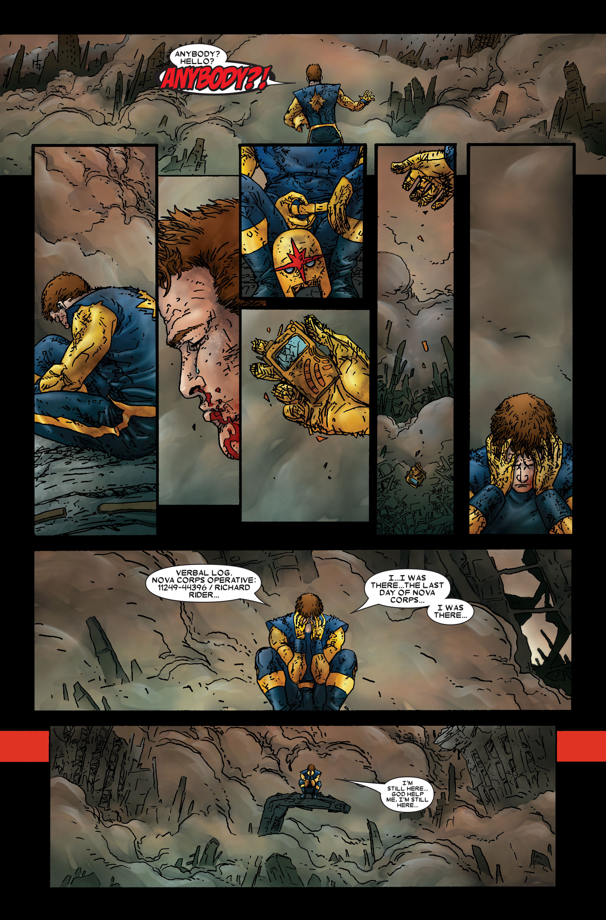 Read online Annihilation: Prologue comic -  Issue #Annihilation: Prologue Full - 34