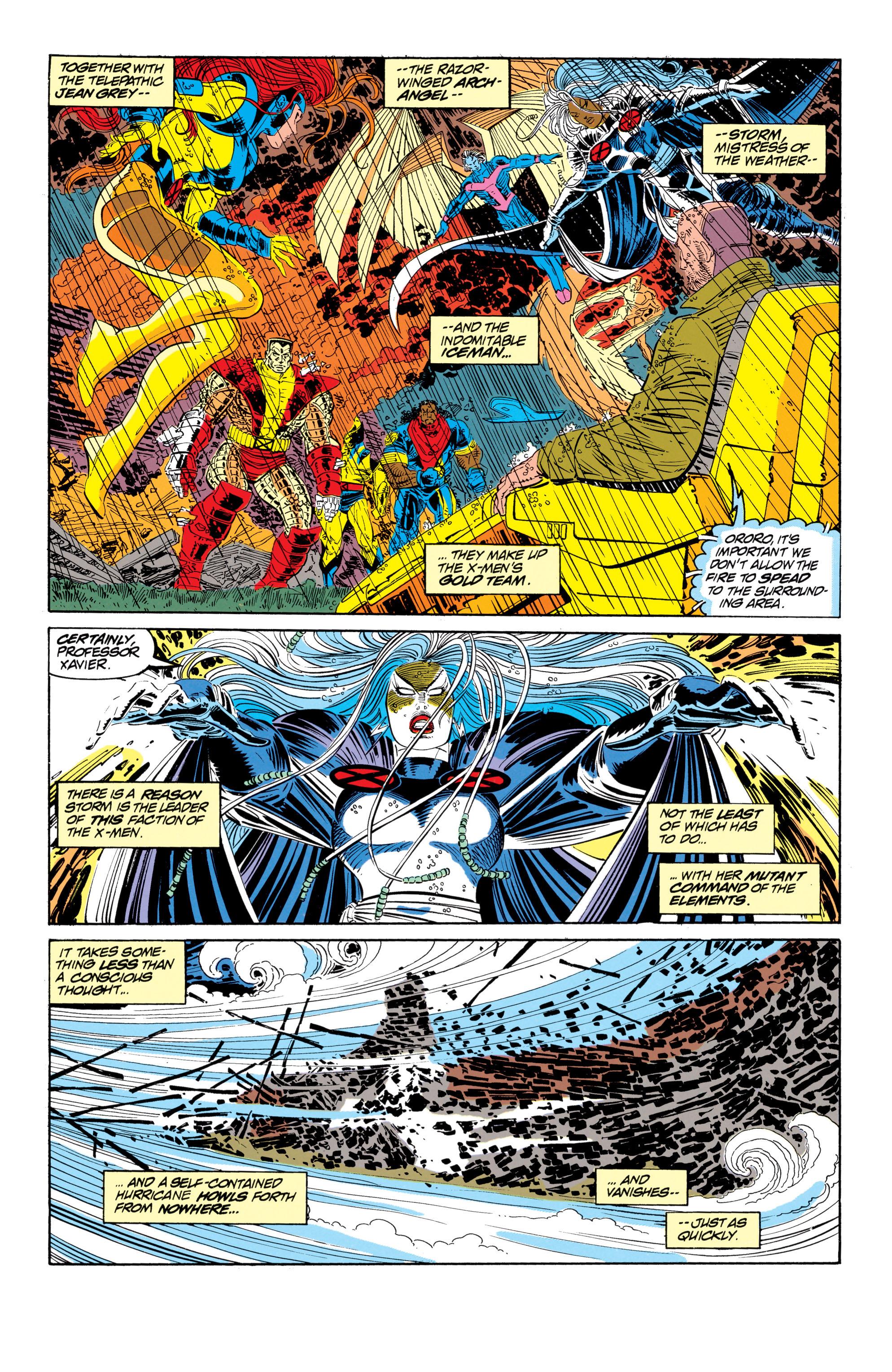 Read online Uncanny X-Men (1963) comic -  Issue #300 - 9