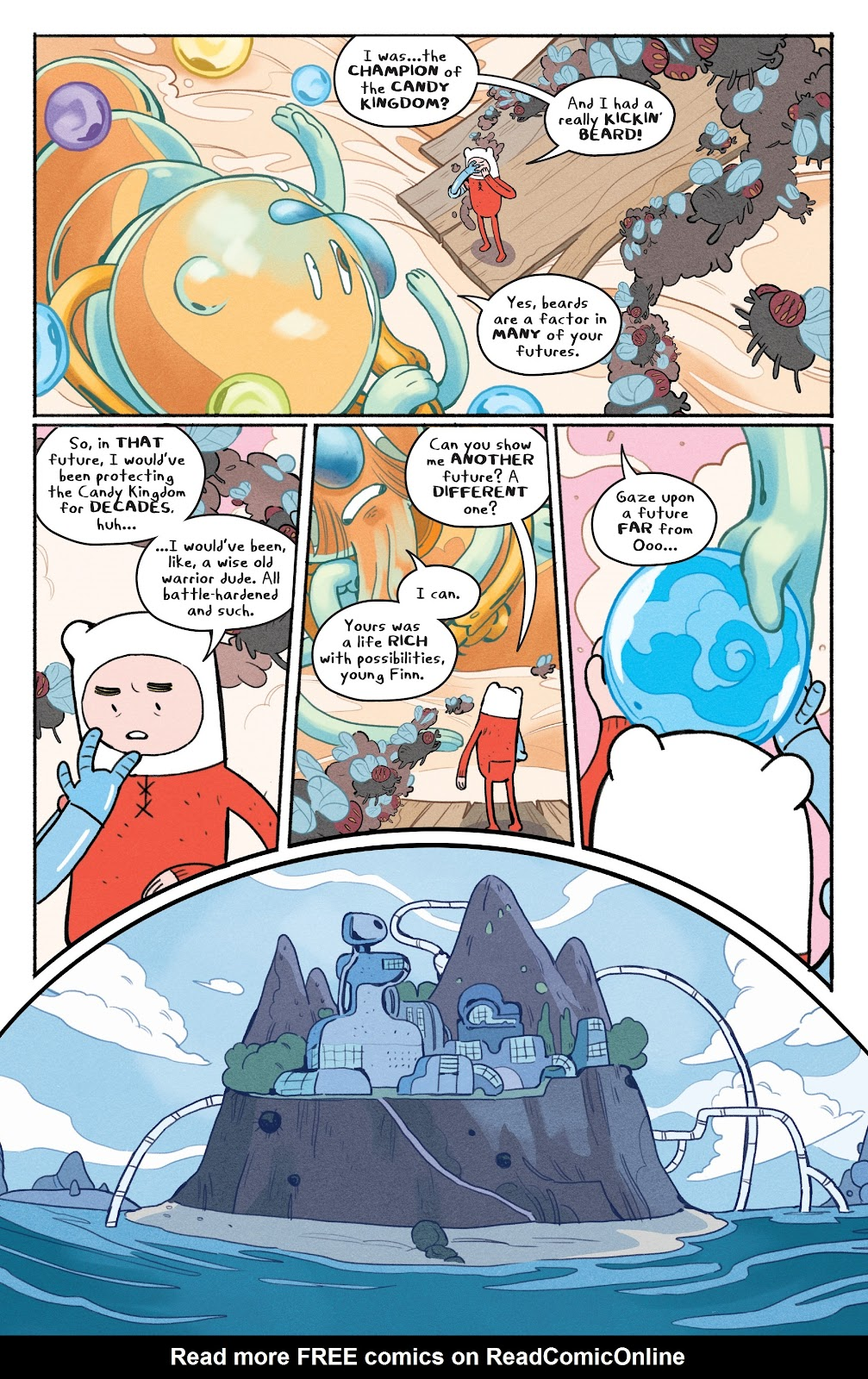 Read online Adventure Time: Beginning of the End comic -  Issue # _TPB - 59