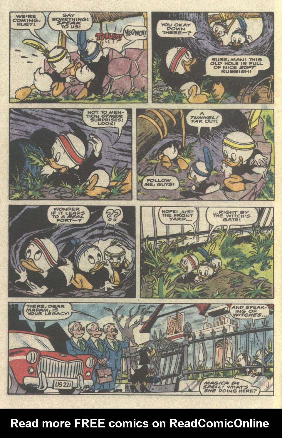 Read online Uncle Scrooge (1953) comic -  Issue #221 - 4
