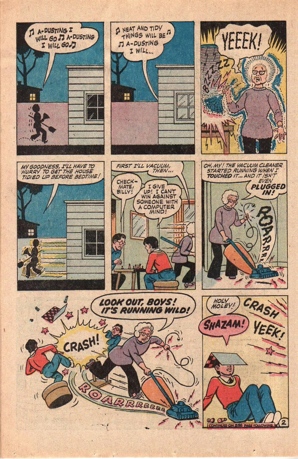 Read online Shazam! (1973) comic -  Issue #6 - 14
