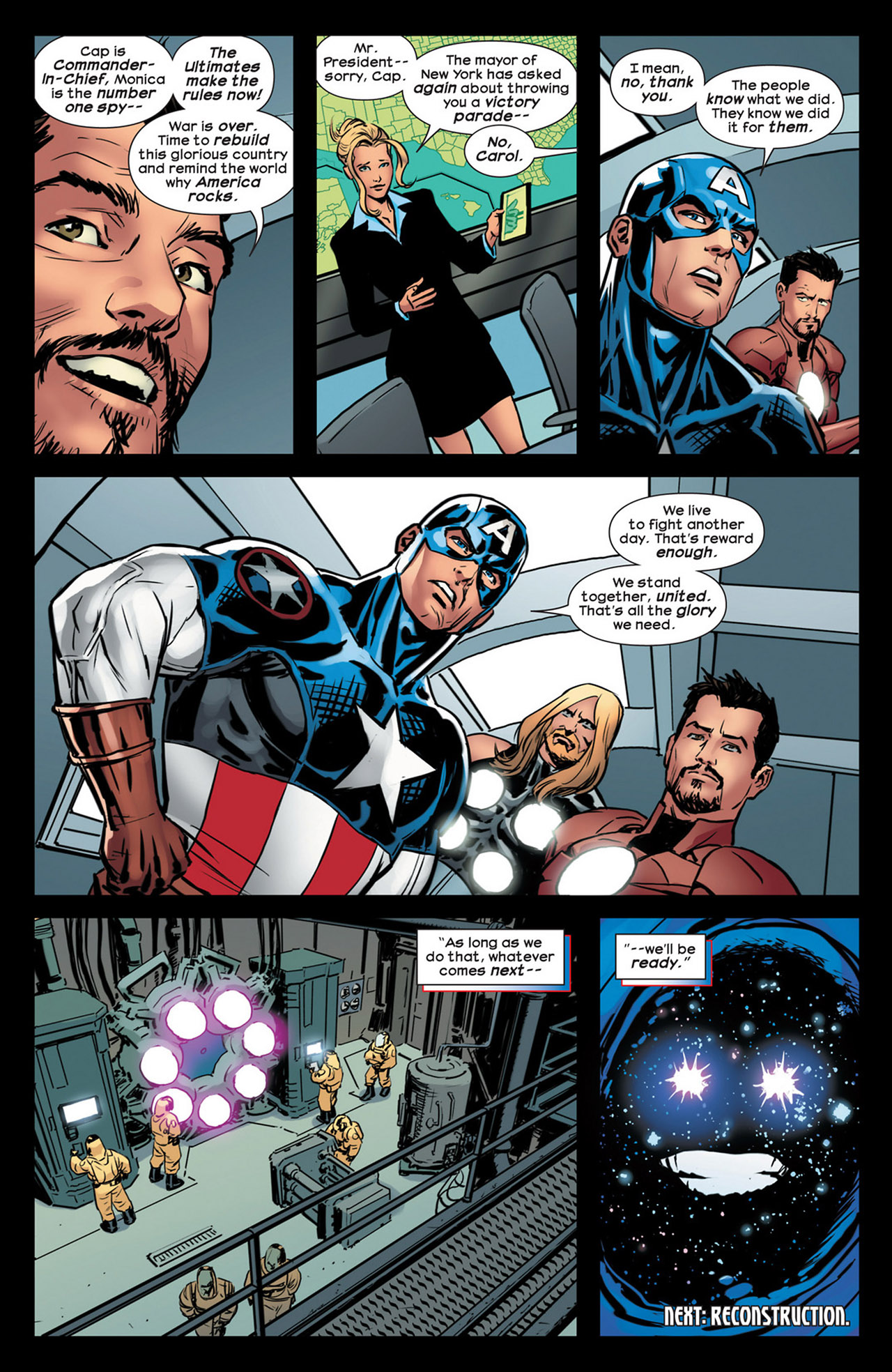 Read online Ultimate Comics Ultimates comic -  Issue #18 - 23