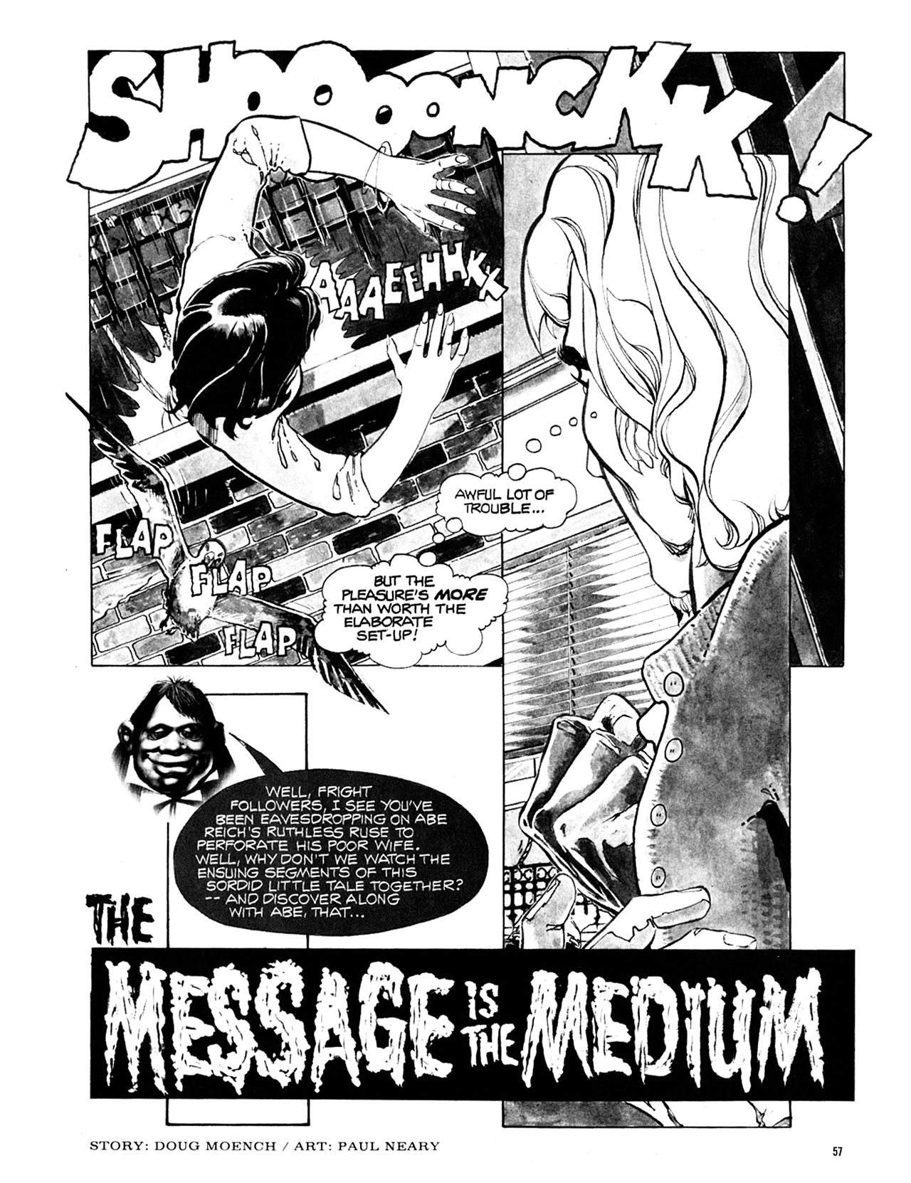 Read online Eerie Archives comic -  Issue # TPB 10 - 58