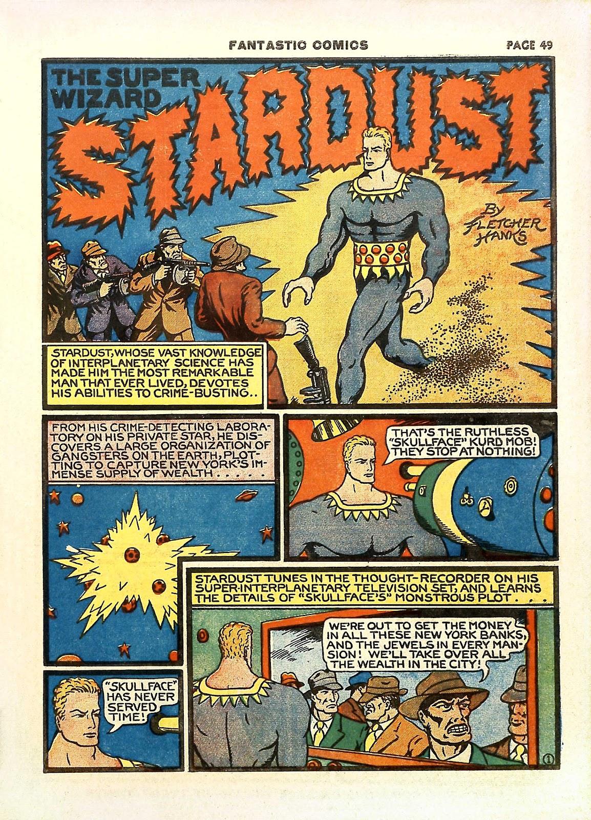 Read online Fantastic Comics comic -  Issue #11 - 52