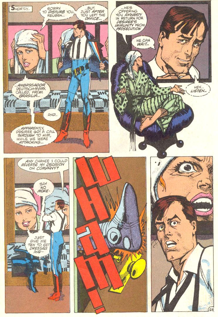 Read online American Flagg! comic -  Issue #12 - 26