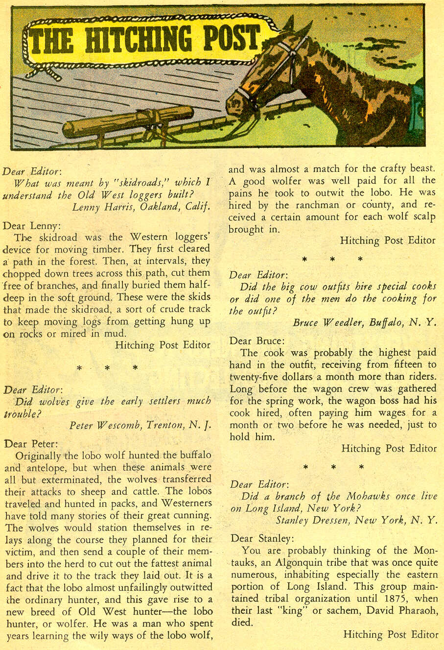 Read online All-Star Western (1951) comic -  Issue #118 - 20