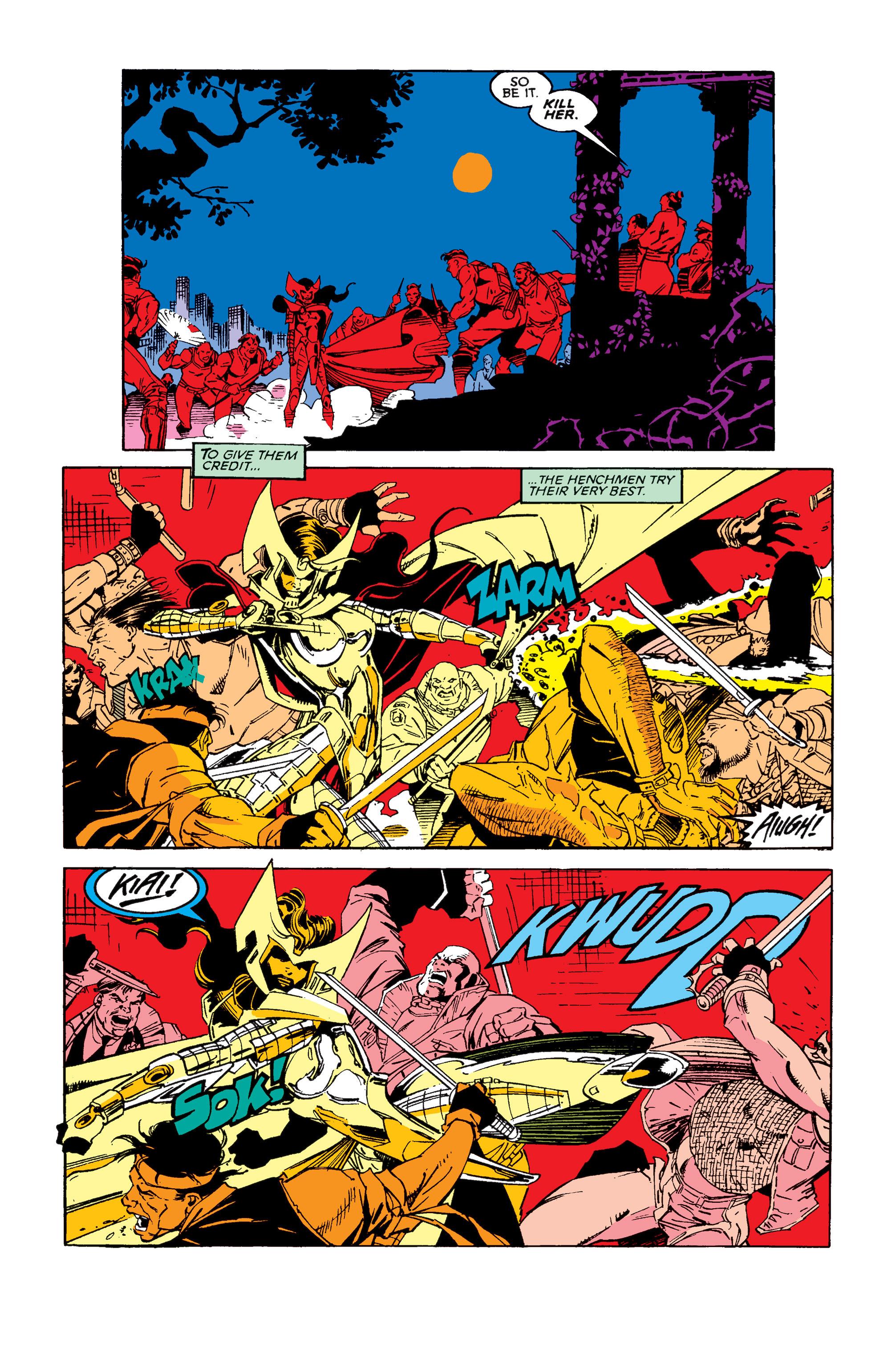 Read online Uncanny X-Men (1963) comic -  Issue #257 - 4