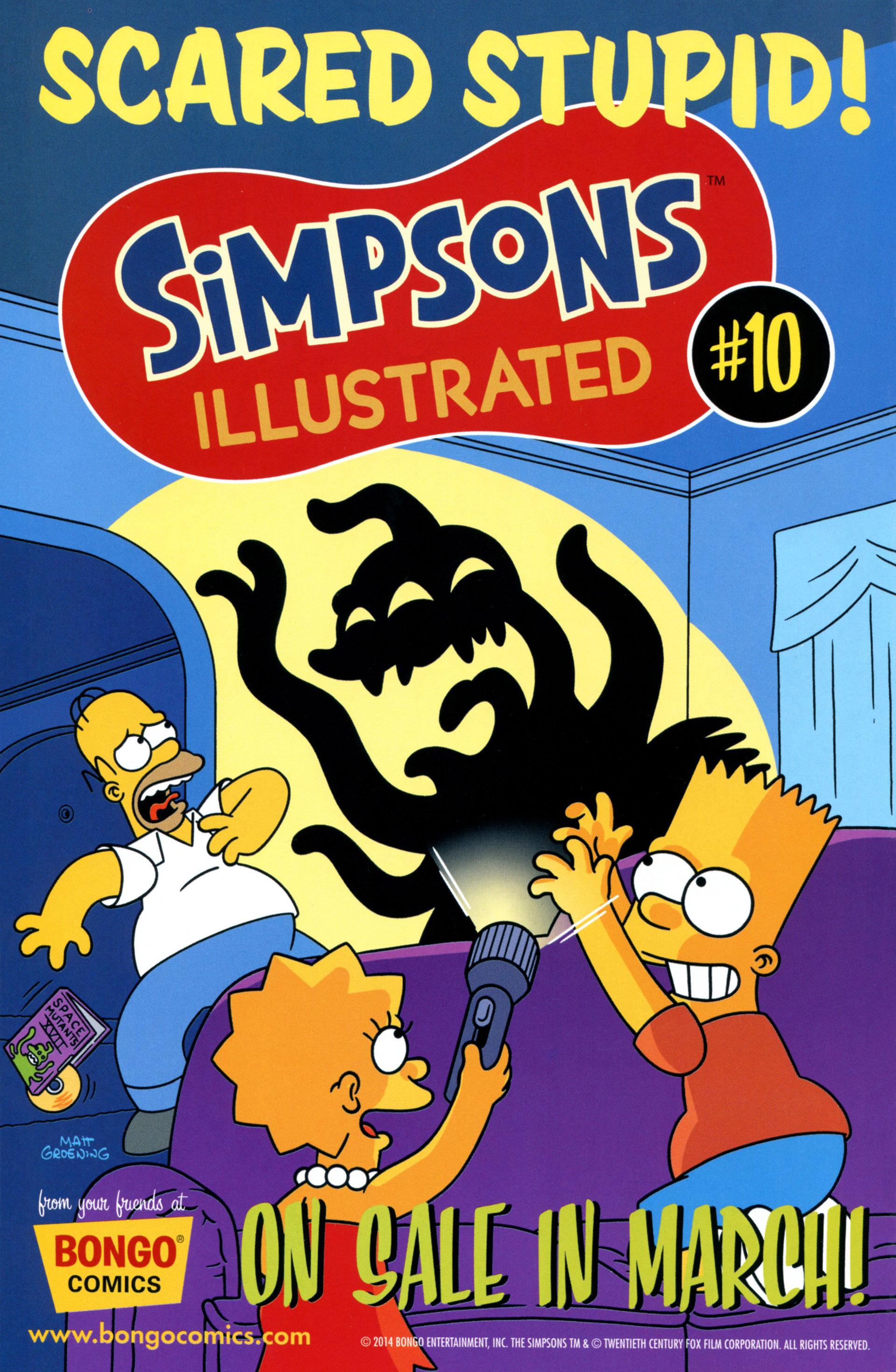 Read online Simpsons Comics comic -  Issue #208 - 26