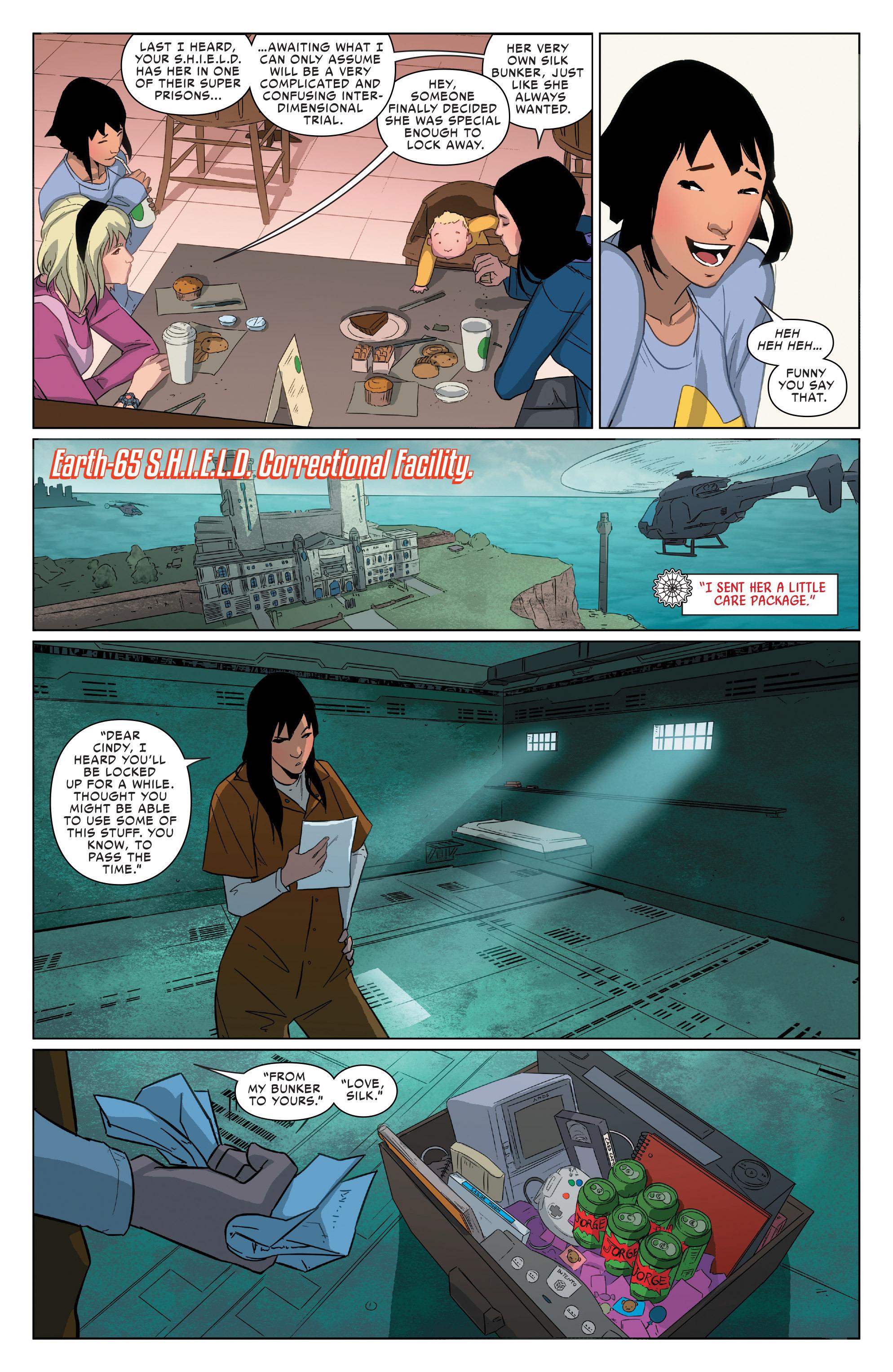 Read online Spider-Women Omega comic -  Issue # Full - 32