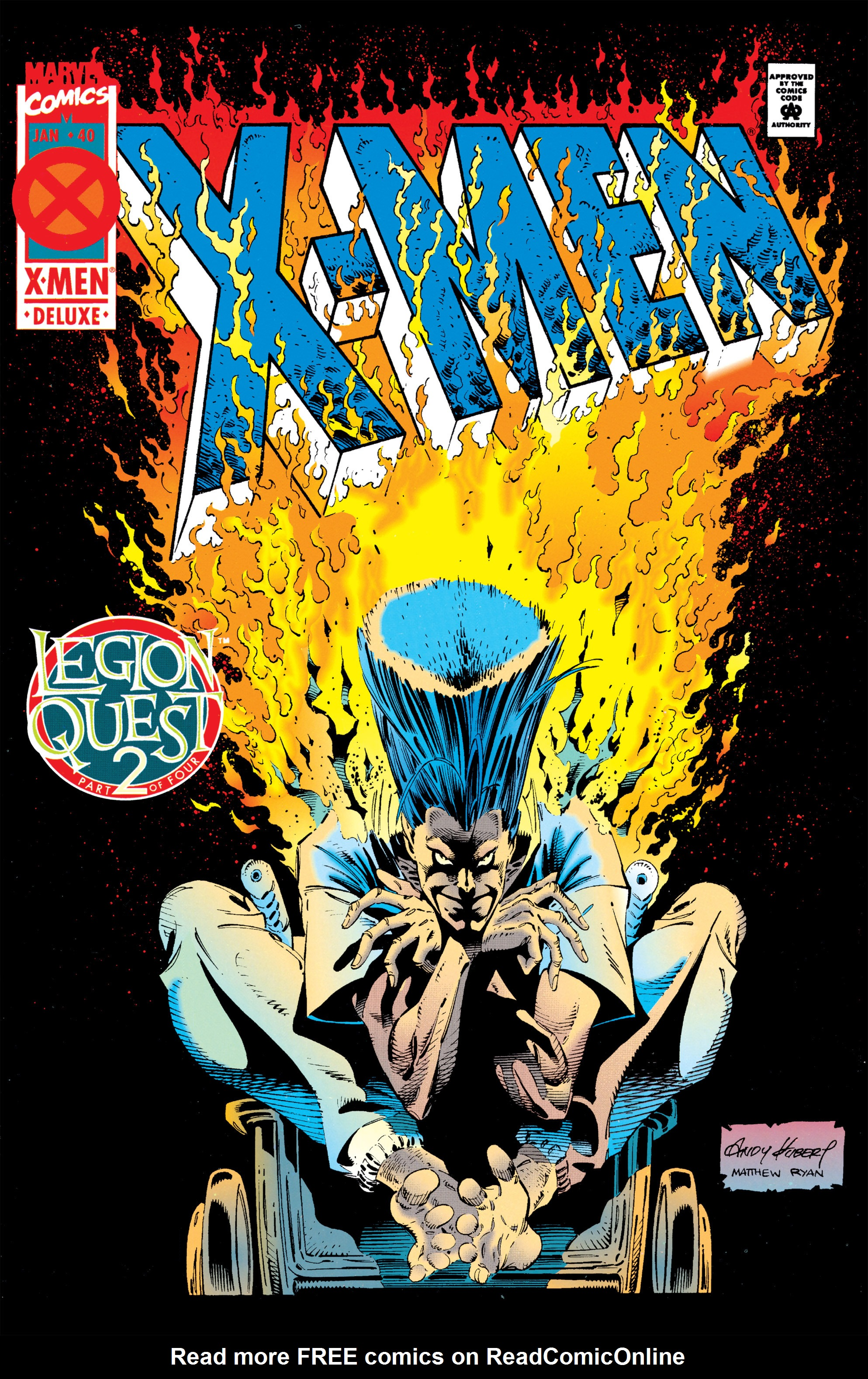 X-Men (1991) 40 Page 0