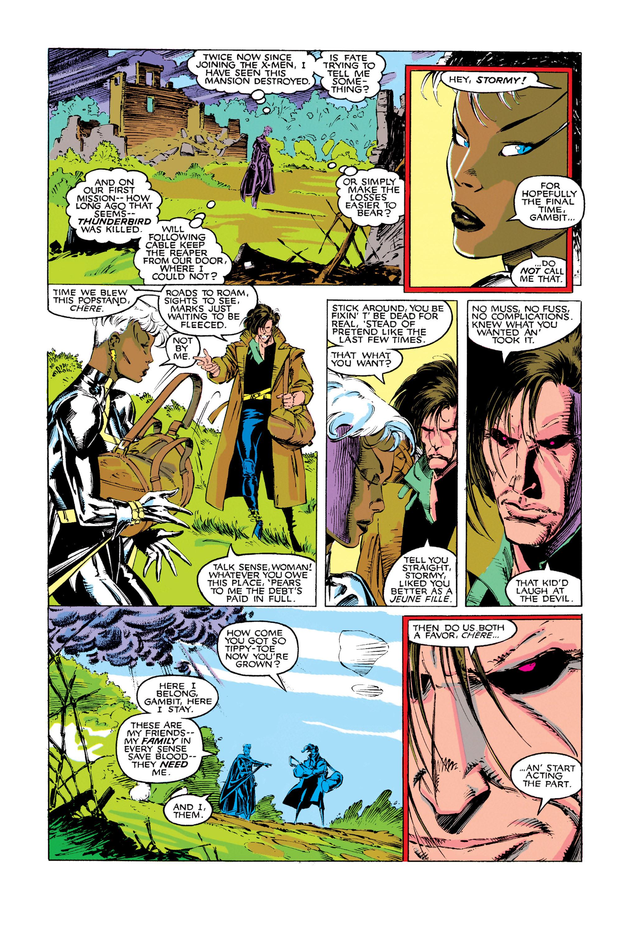 Read online Uncanny X-Men (1963) comic -  Issue #273 - 13