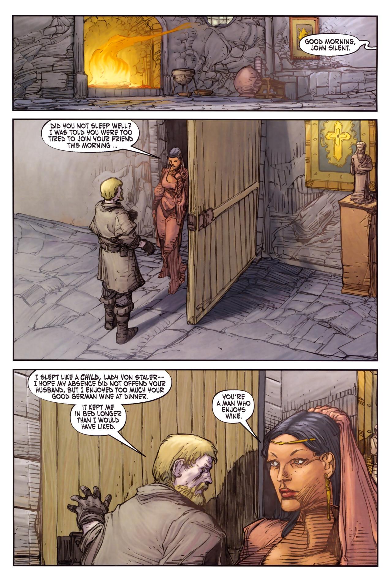 Read online Solomon Kane comic -  Issue #3 - 3