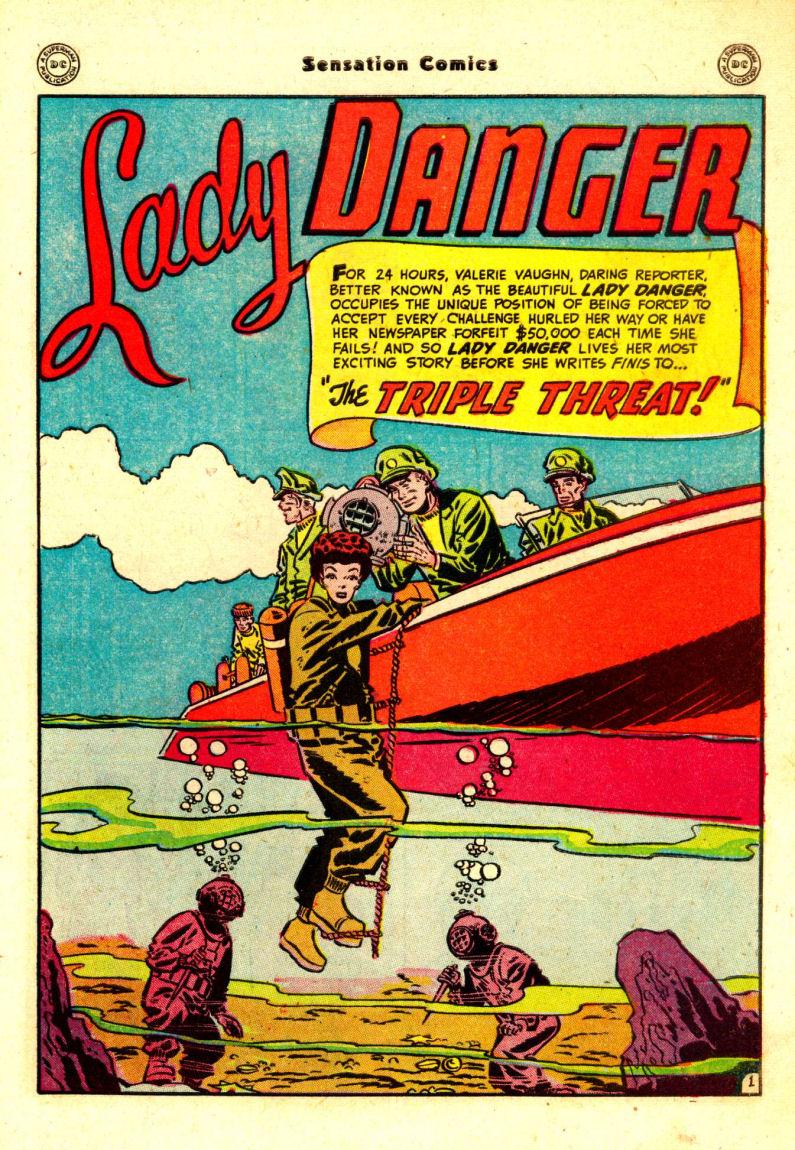 Read online Sensation (Mystery) Comics comic -  Issue #88 - 40