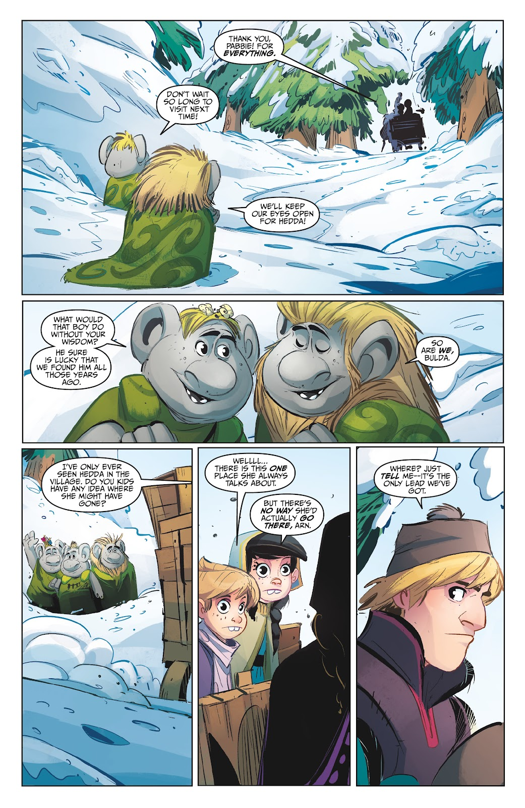 Read online Disney Frozen: The Hero Within comic -  Issue #2 - 20