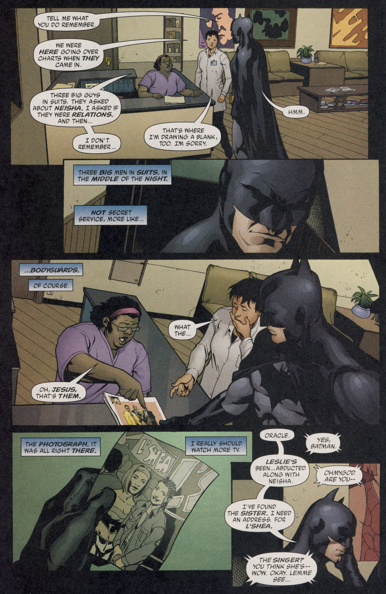 Read online Batman War Drums comic -  Issue # TPB - 55