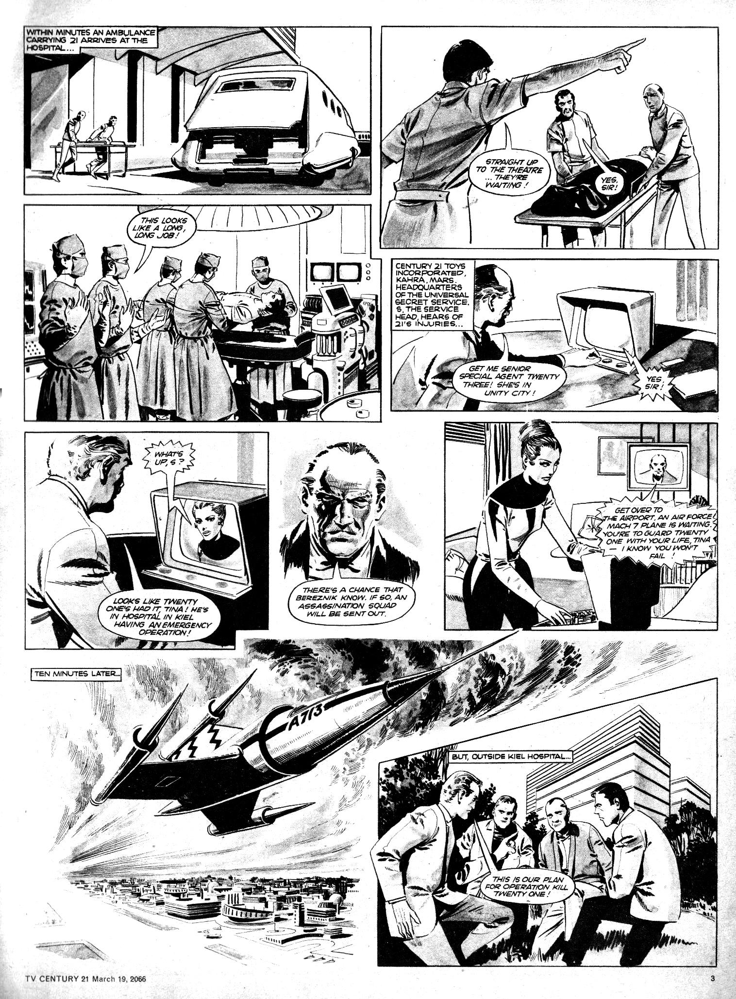 Read online TV Century 21 (TV 21) comic -  Issue #61 - 3