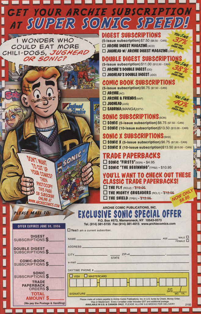 Read online Sonic X comic -  Issue #6 - 31