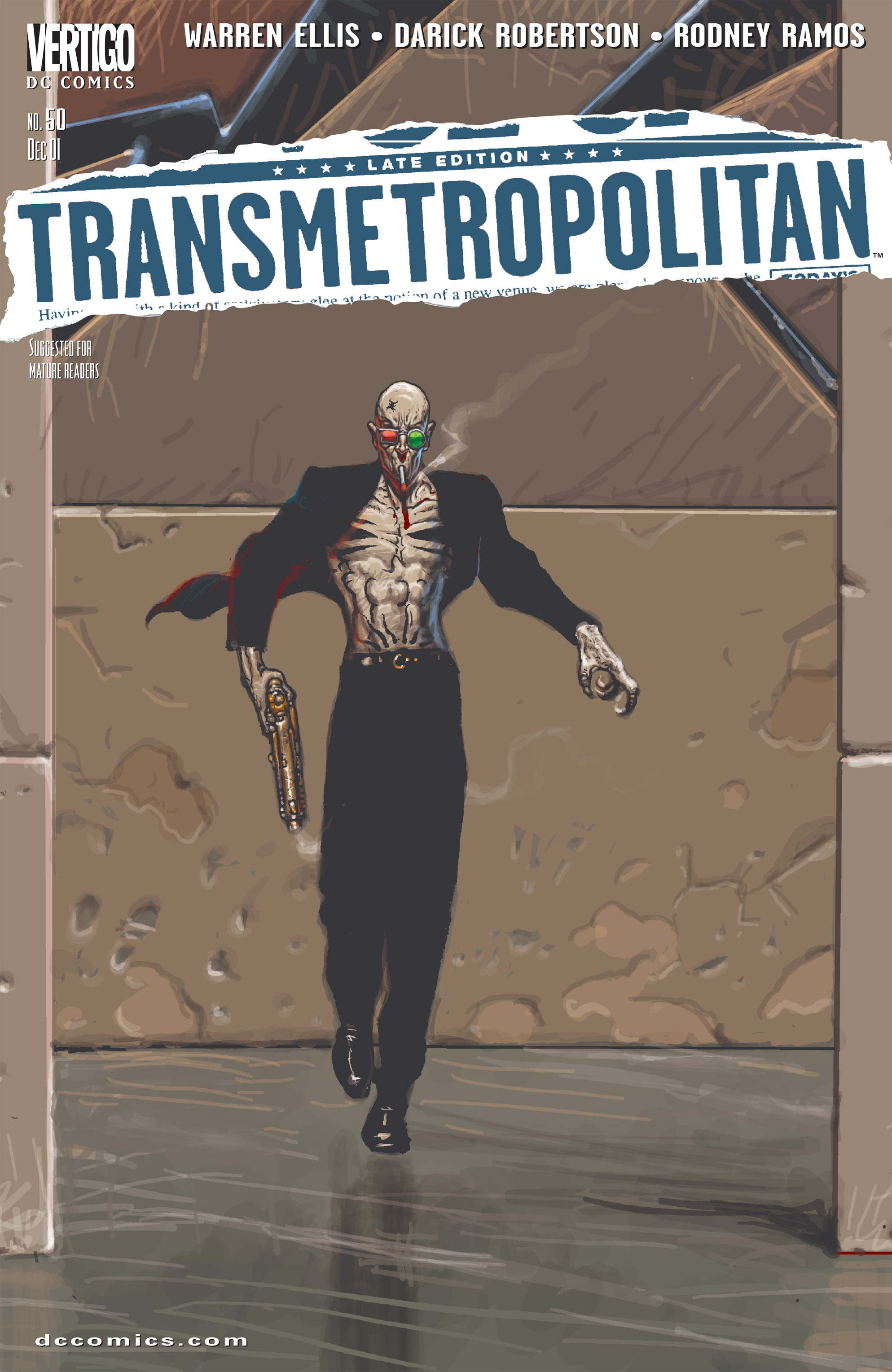 Read online Transmetropolitan comic -  Issue #50 - 1