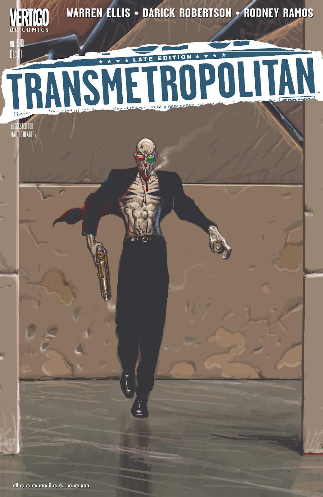 Transmetropolitan 50 Page 1