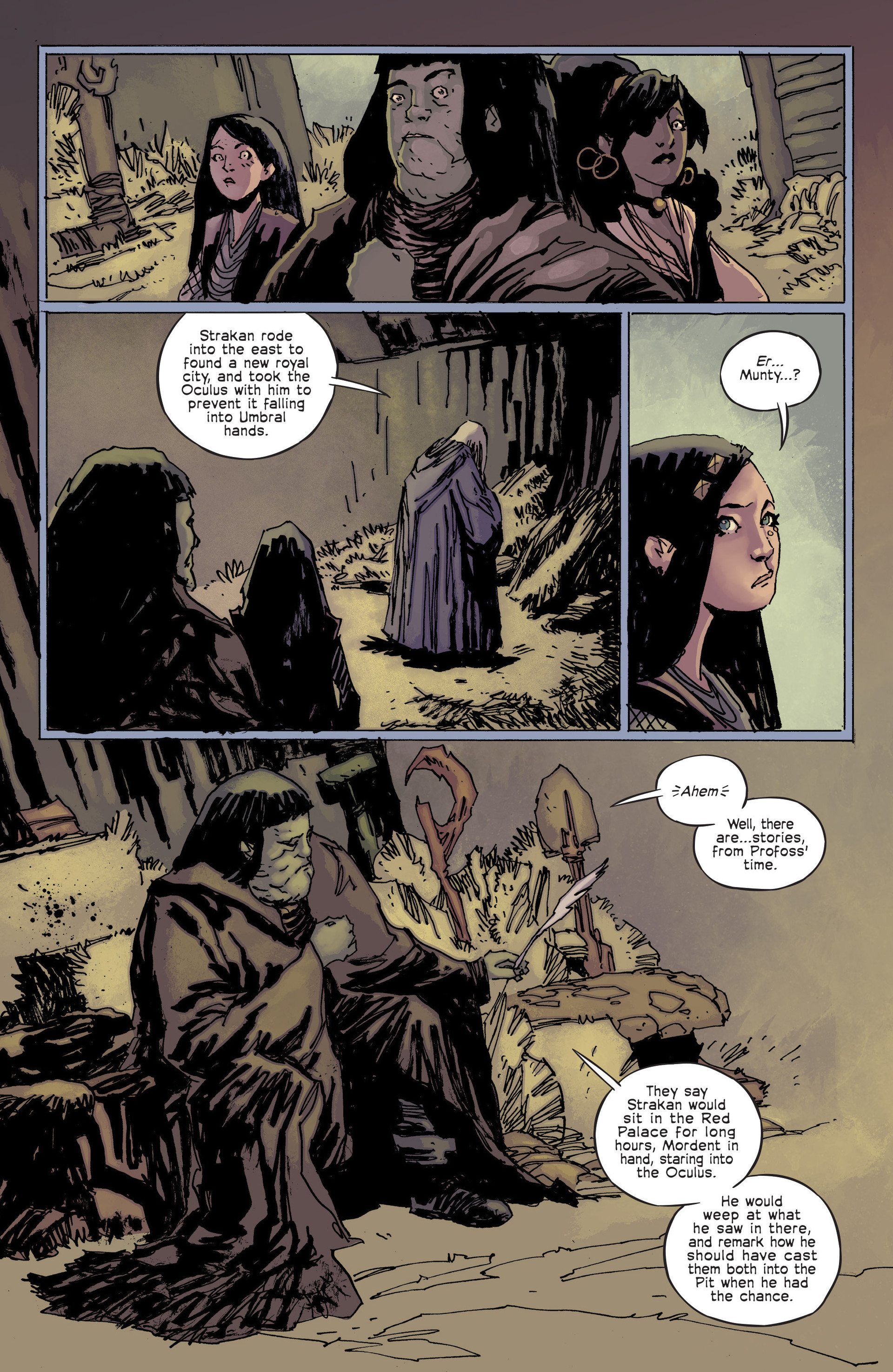 Read online Umbral comic -  Issue #6 - 16