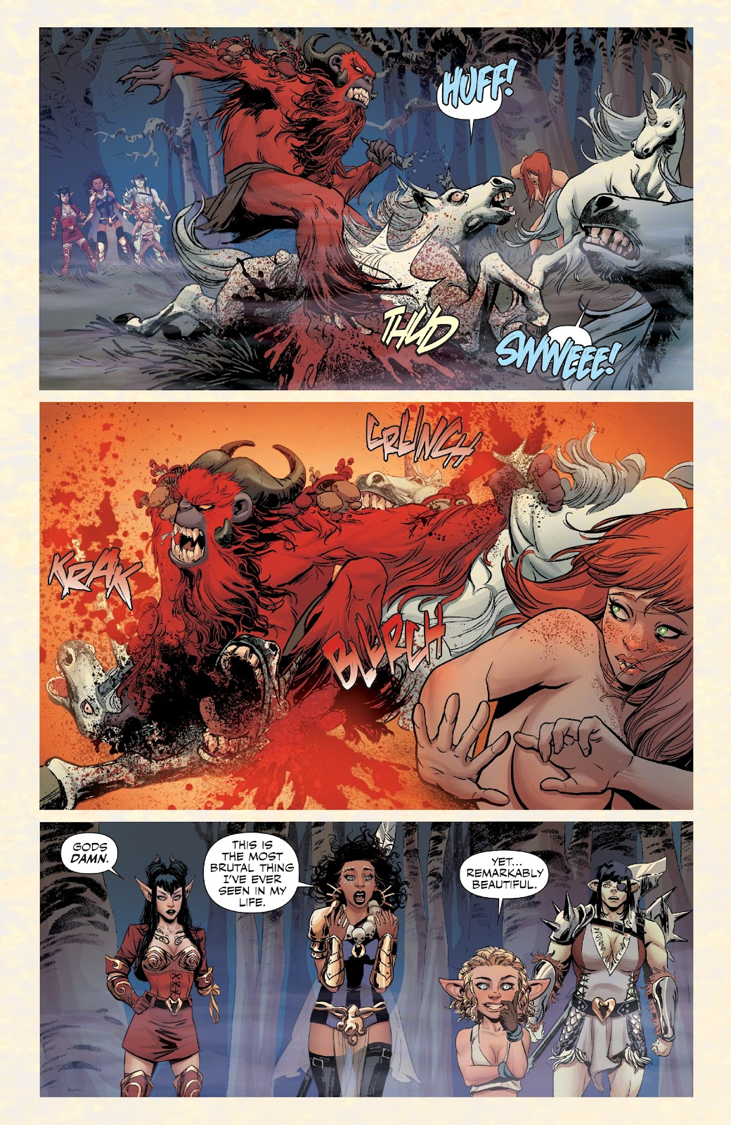 Read online Rat Queens Special: Swamp Romp comic -  Issue # Full - 19