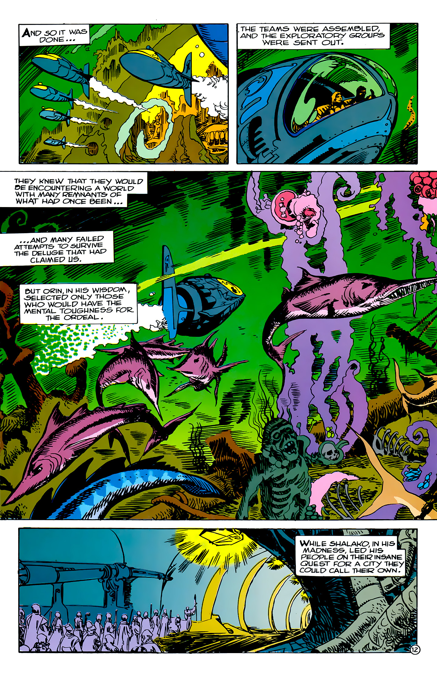 Read online Atlantis Chronicles comic -  Issue #2 - 12