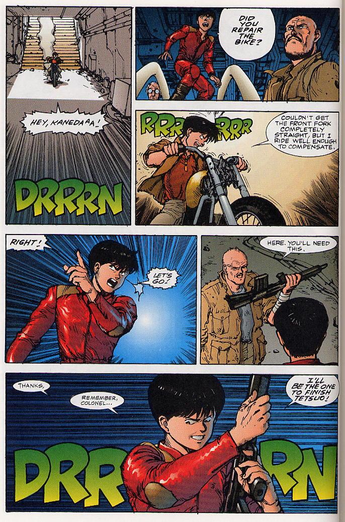 Read online Akira comic -  Issue #26 - 41