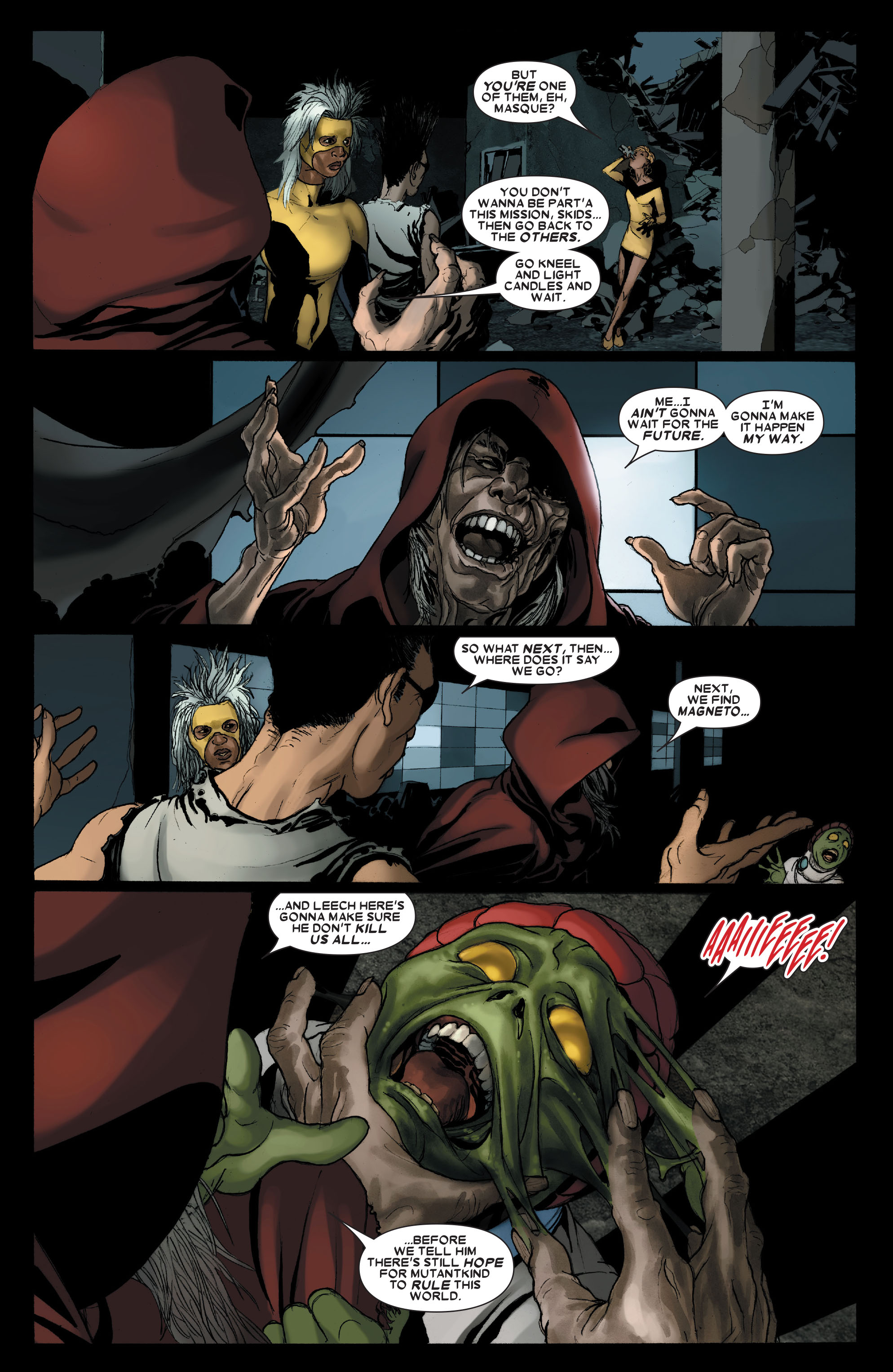 Read online Uncanny X-Men (1963) comic -  Issue #487 - 23