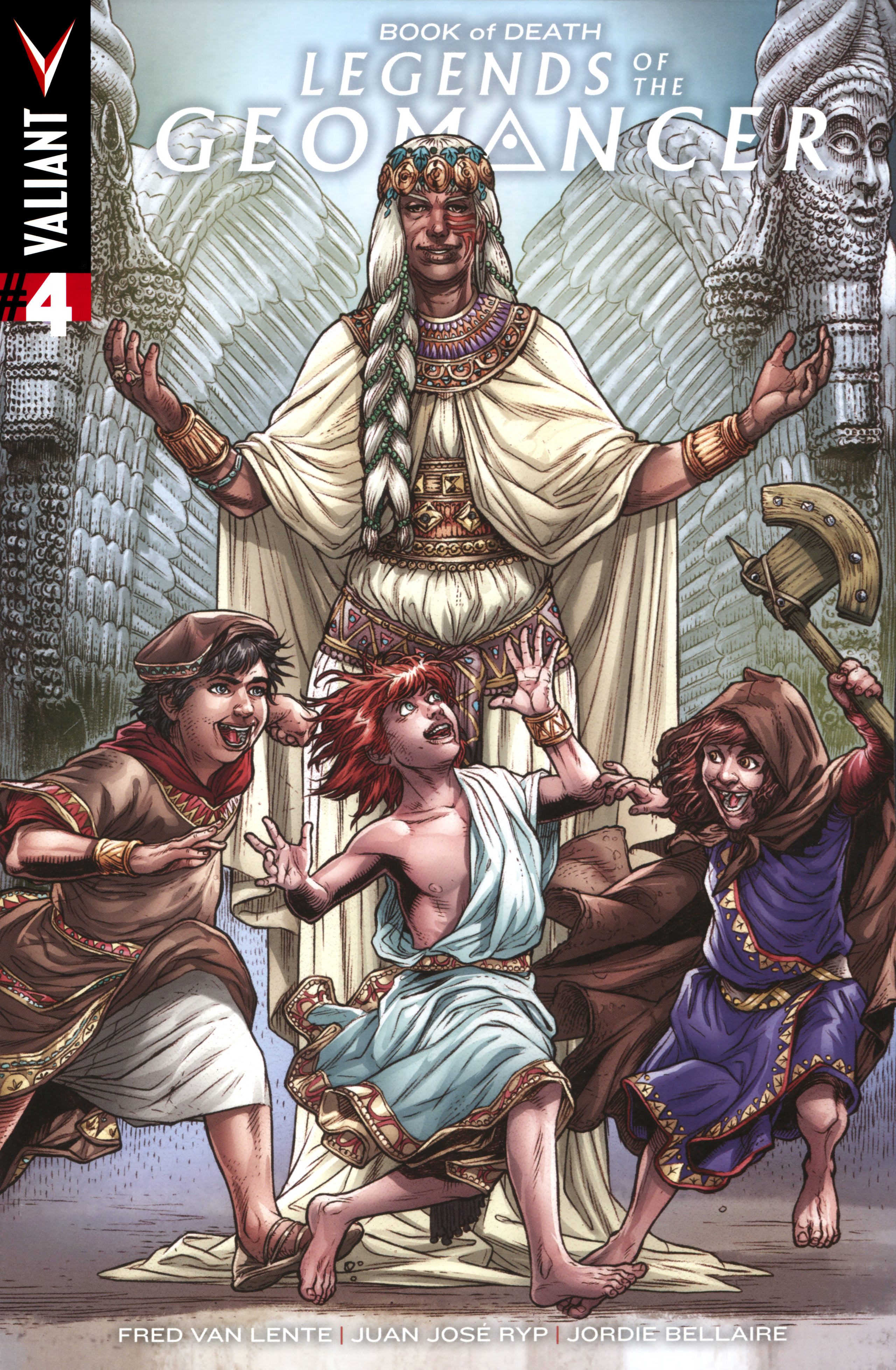 Book of Death Legends of the Geomancer Issue 4