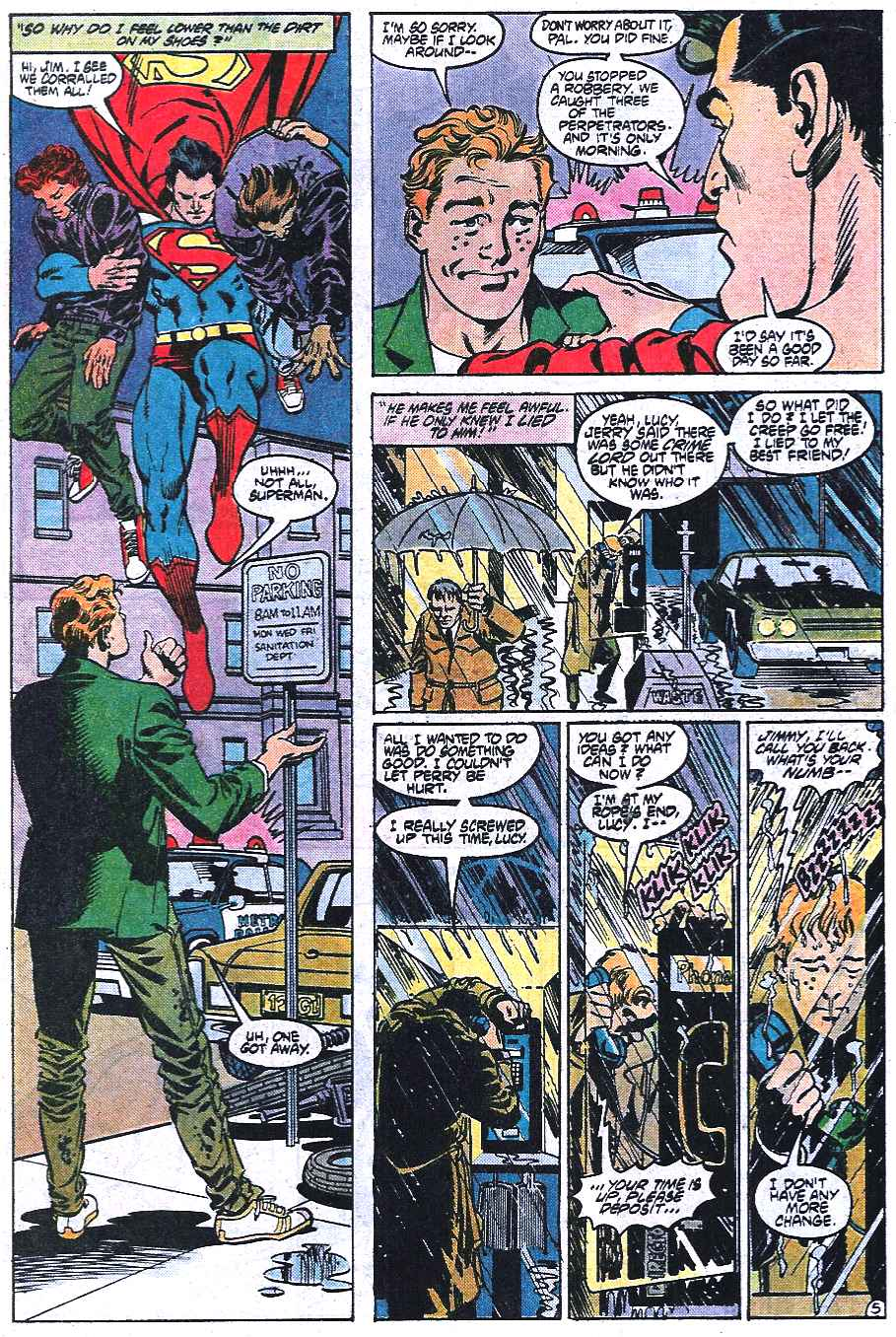 Read online Adventures of Superman (1987) comic -  Issue #433 - 6