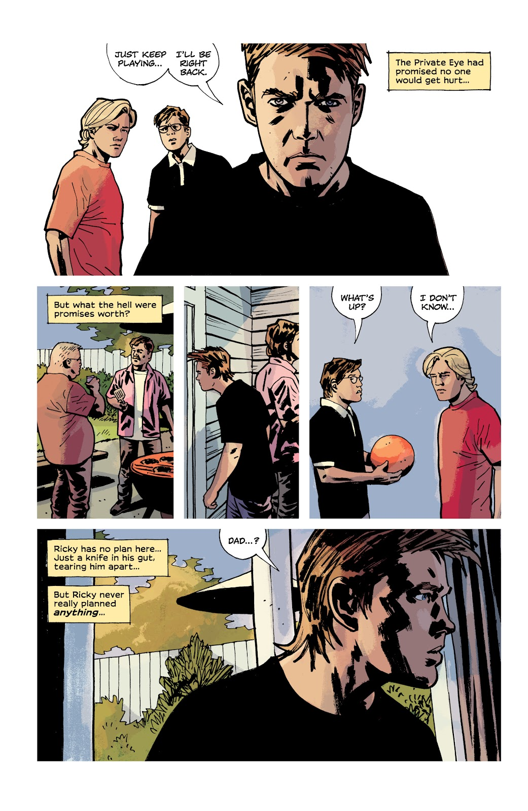 Read online Criminal (2019) comic -  Issue #12 - 21