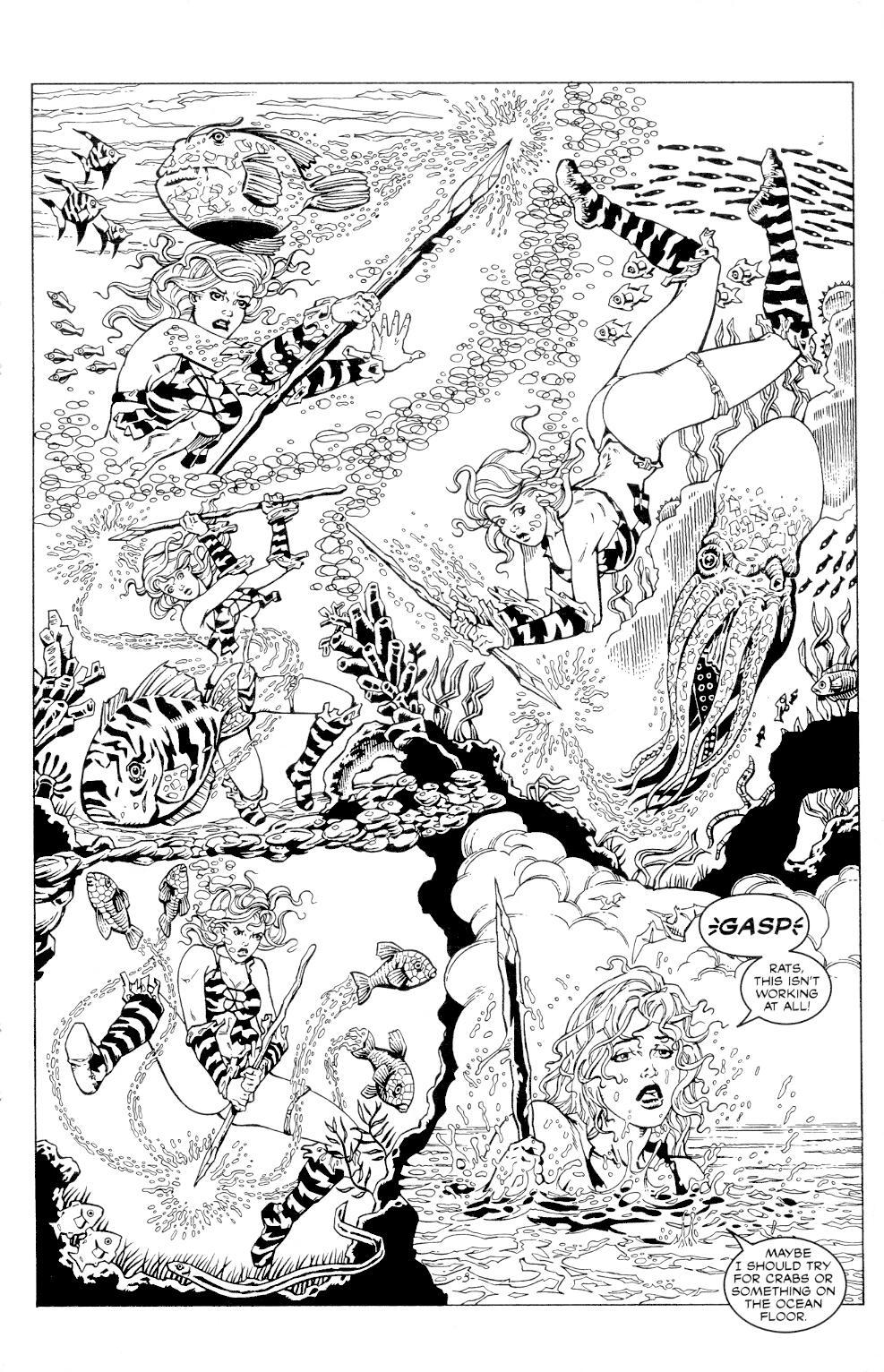 Read online Jungle Fantasy (2002) comic -  Issue #4 - 9