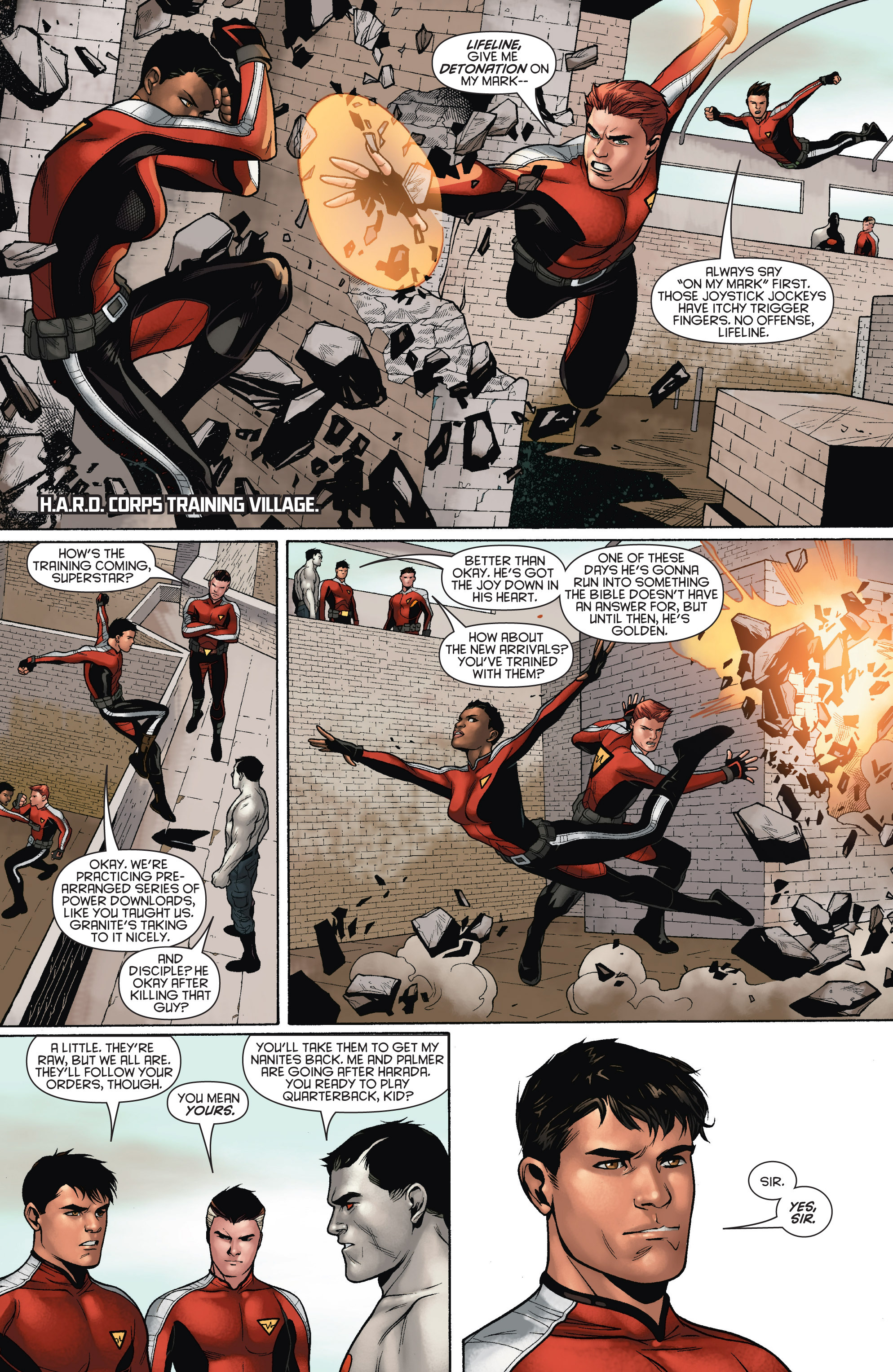 Read online Bloodshot and H.A.R.D.Corps comic -  Issue # TPB 4 - 60