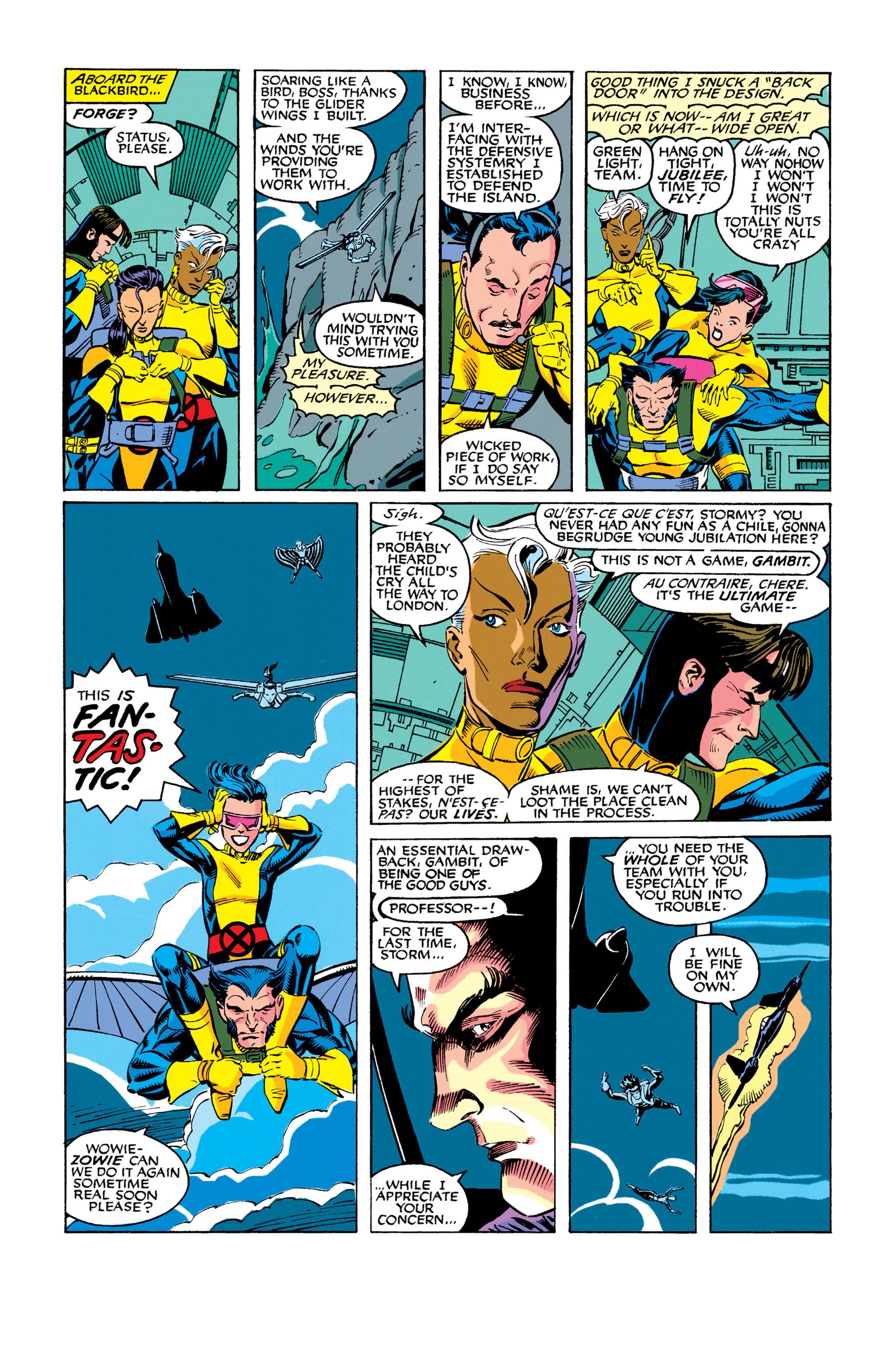 Read online Uncanny X-Men (1963) comic -  Issue #278 - 15